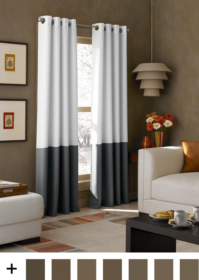 Most Up To Date Top 10 Best Budget Contemporary Panel Curtains To Buy In Regarding Wilshire Burnout Grommet Top Curtain Panel Pairs (View 18 of 20)