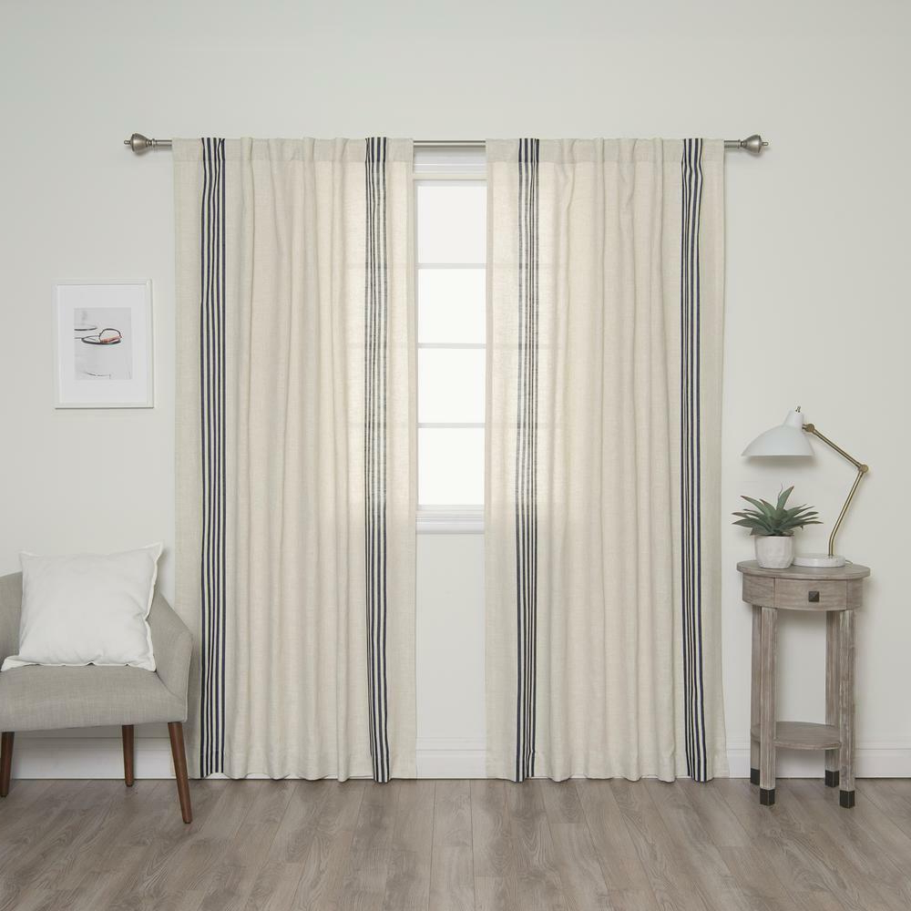 Navy Curtain Panels – Avalon Master (View 18 of 20)