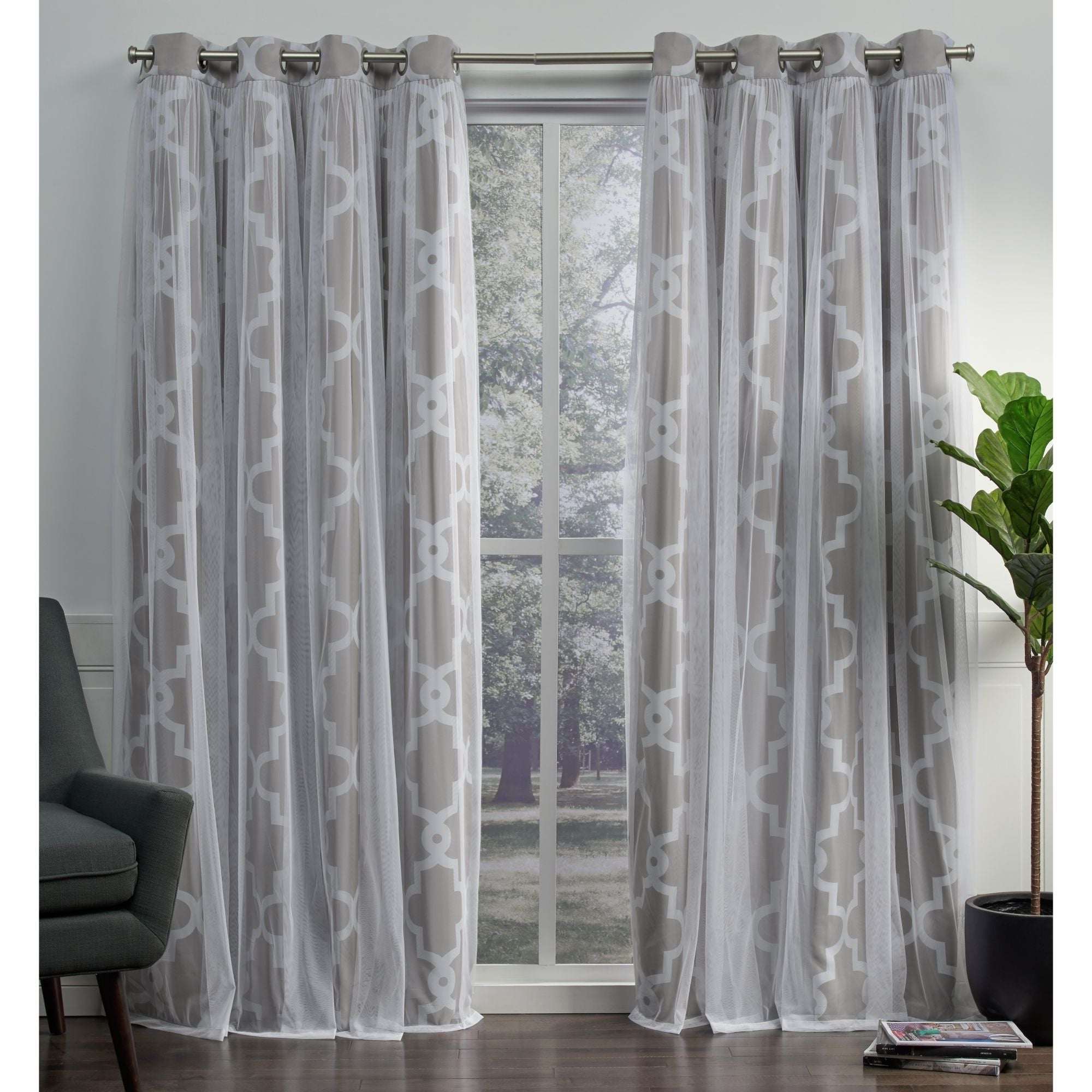 Newest Ati Home Alegra Thermal Woven Blackout Grommet Top Curtain Panel Pair Inside Thermal Woven Blackout Grommet Top Curtain Panel Pairs (View 3 of 20)