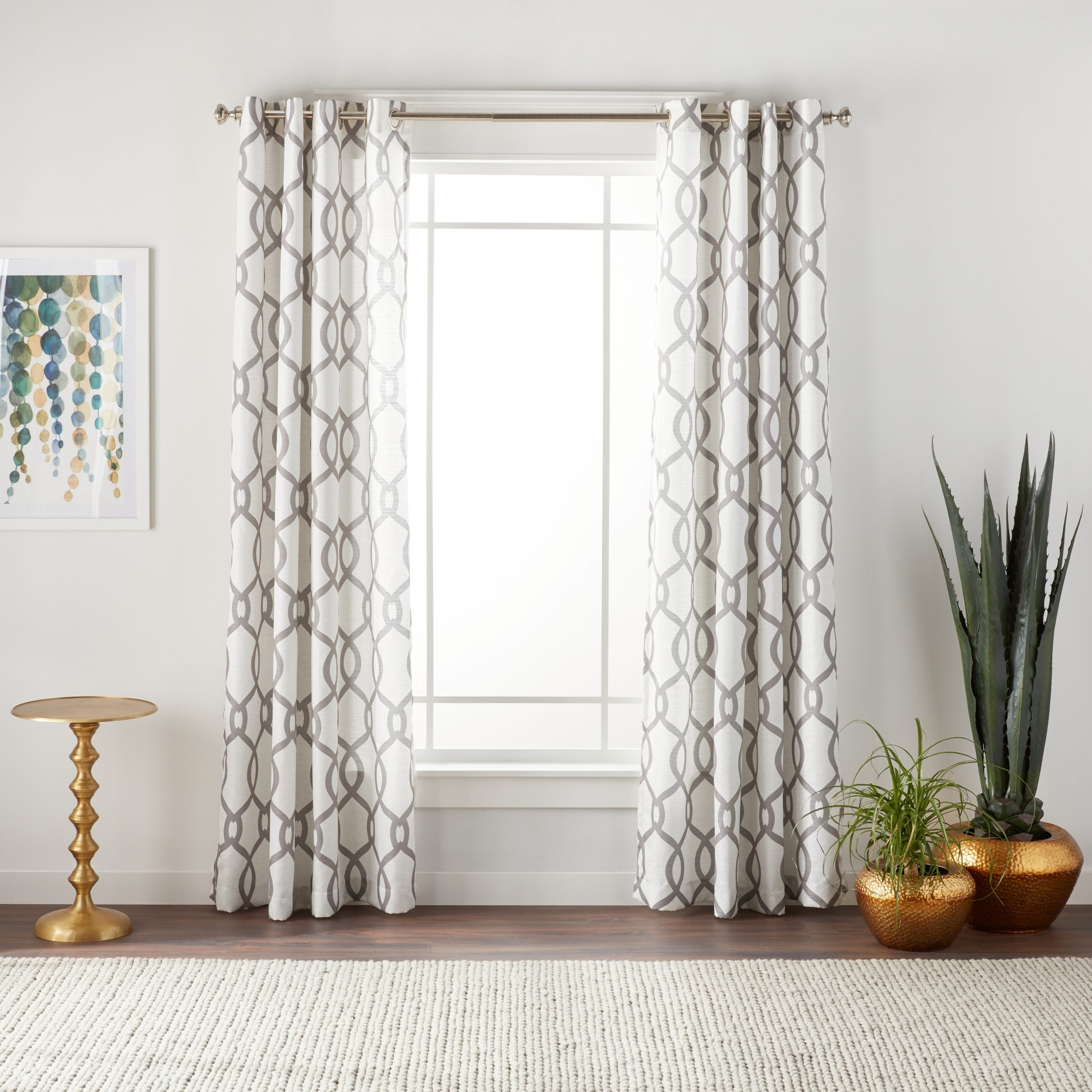 Newest Ati Home Kochi Linen Blend Window Curtain Panel Pair With Pertaining To Kochi Linen Blend Window Grommet Top Curtain Panel Pairs (View 10 of 20)
