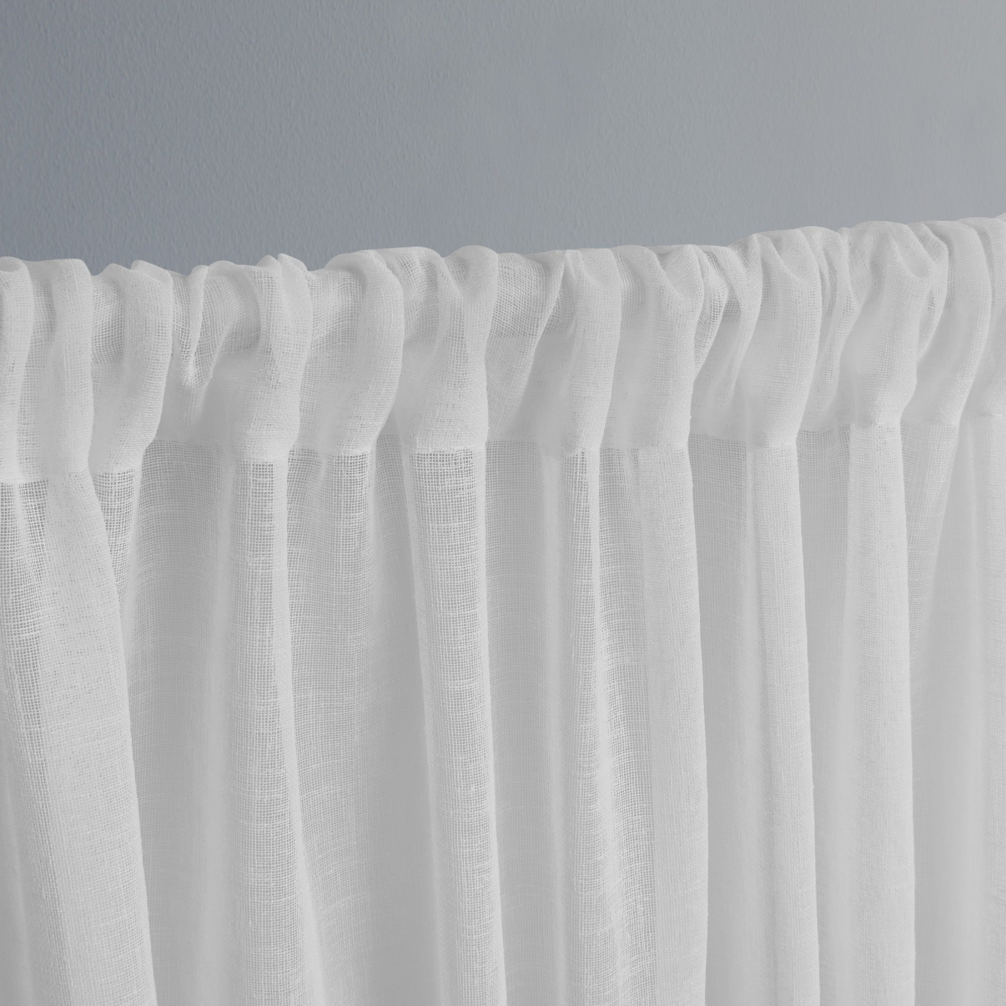 Newest Belgian Sheer Window Curtain Panel Pairs With Rod Pocket Regarding Ati Home Belgian Sheer Window Curtain Panel Pair With Rod Pocket (View 14 of 20)
