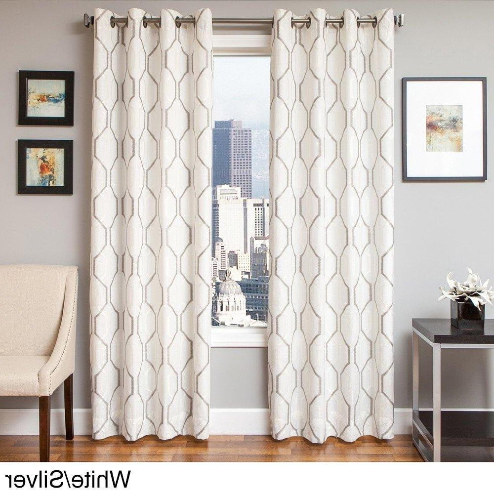 Newest Kida Embroidered Sheer Curtain Panels In Pin On Window Treatment (View 15 of 20)