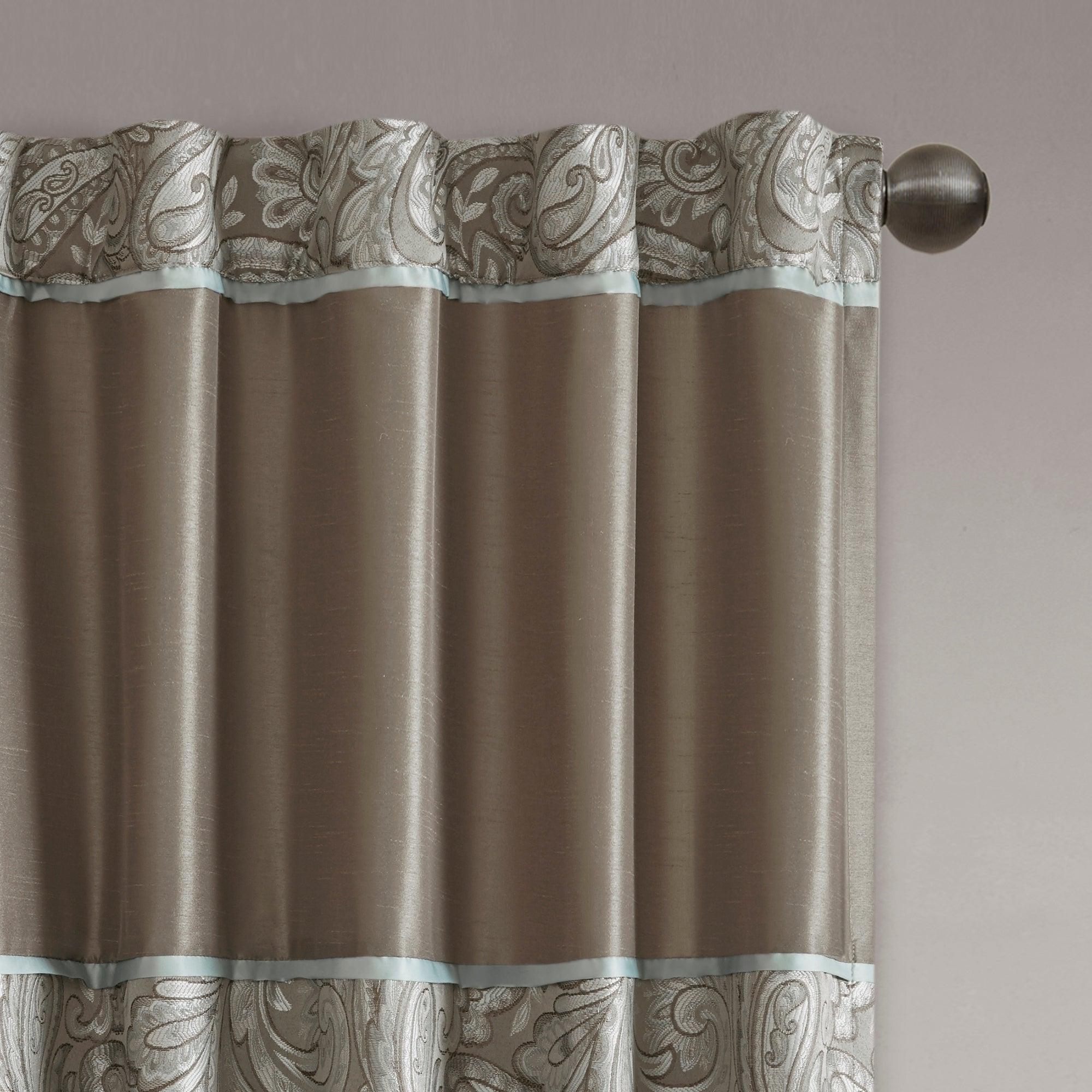Newest Madison Park Whitman Curtain Panel Pair Throughout Whitman Curtain Panel Pairs (View 4 of 20)