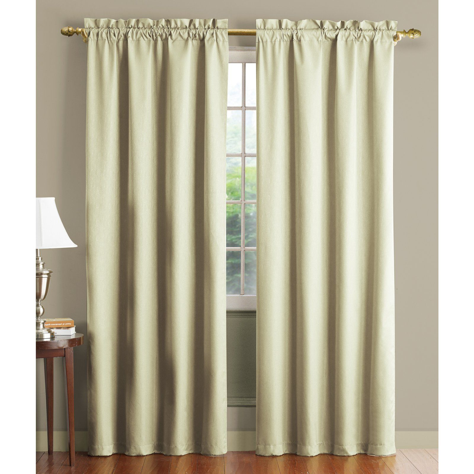 Newest Overseas Faux Silk Blackout Curtain Panel Pairs Within Have To Have It (View 12 of 20)
