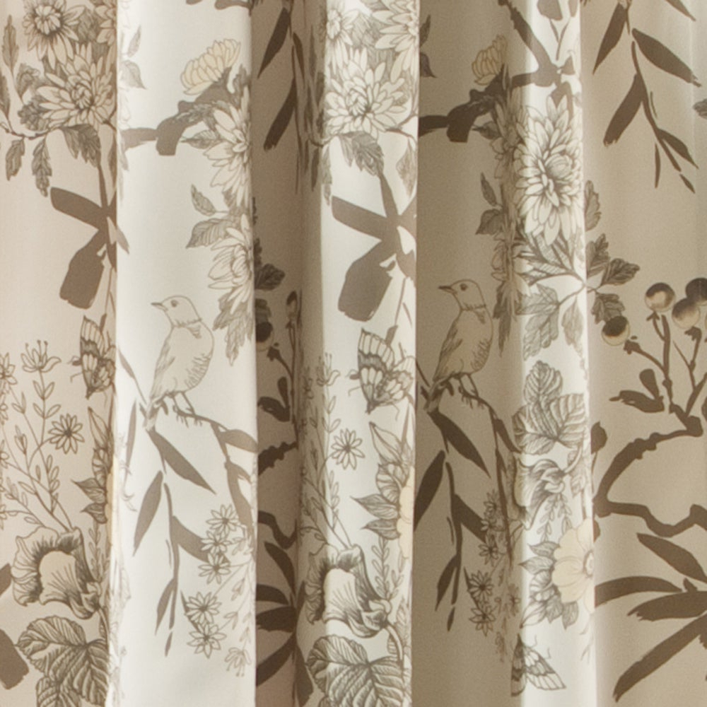 Newest The Gray Barn Dogwood Floral Curtain Panel Pair In Gray Barn Dogwood Floral Curtain Panel Pairs (View 6 of 20)
