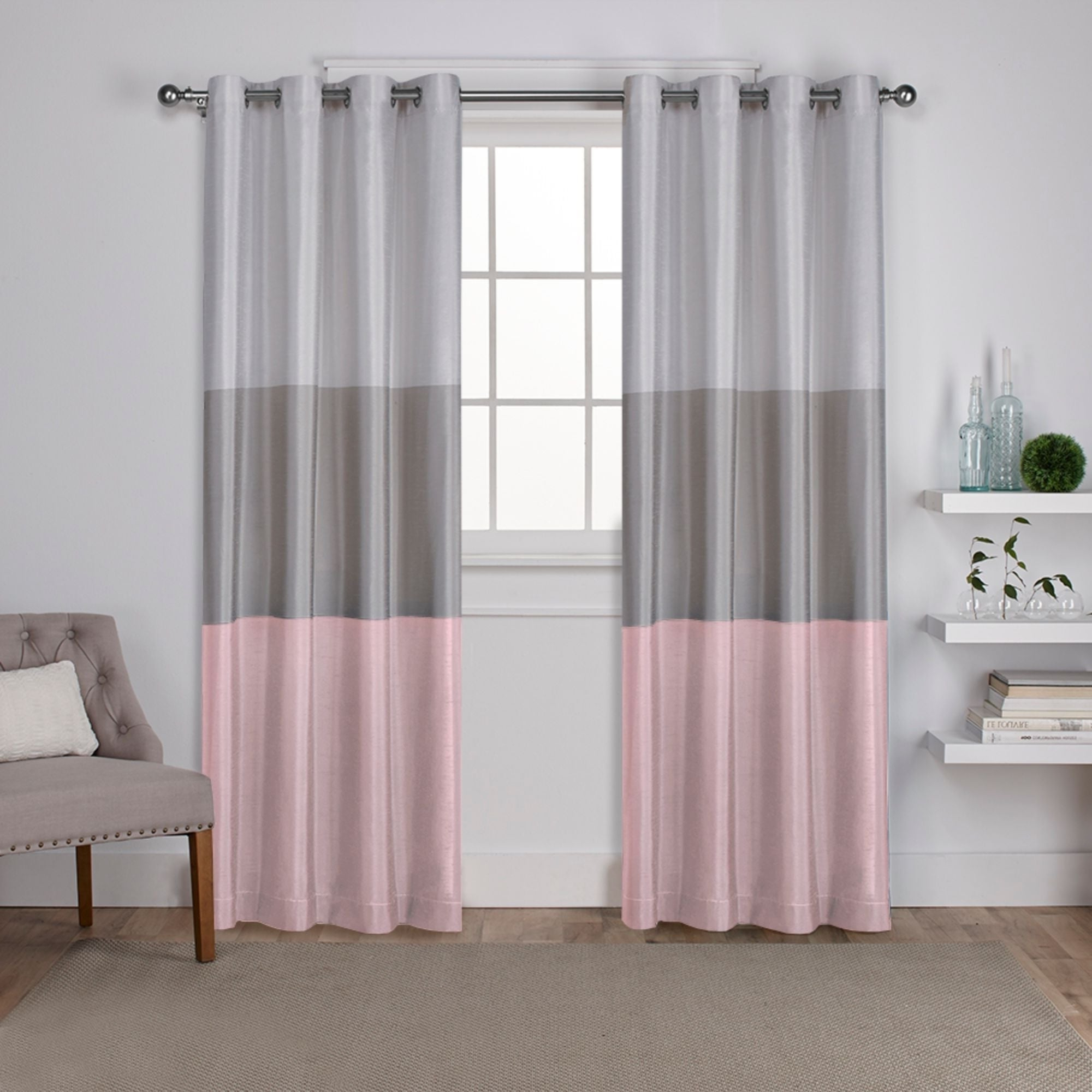 Ocean Striped Window Curtain Panel Pairs With Grommet Top With 2021 Porch & Den Ocean Striped Window Curtain Panel Pair With Grommet Top (View 5 of 20)