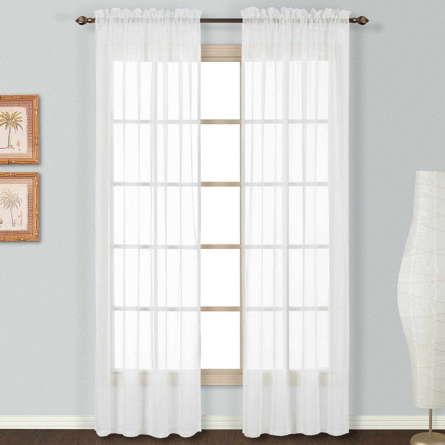 Our Best For Most Current Luxury Collection Summit Sheer Curtain Panel Pairs (View 15 of 20)