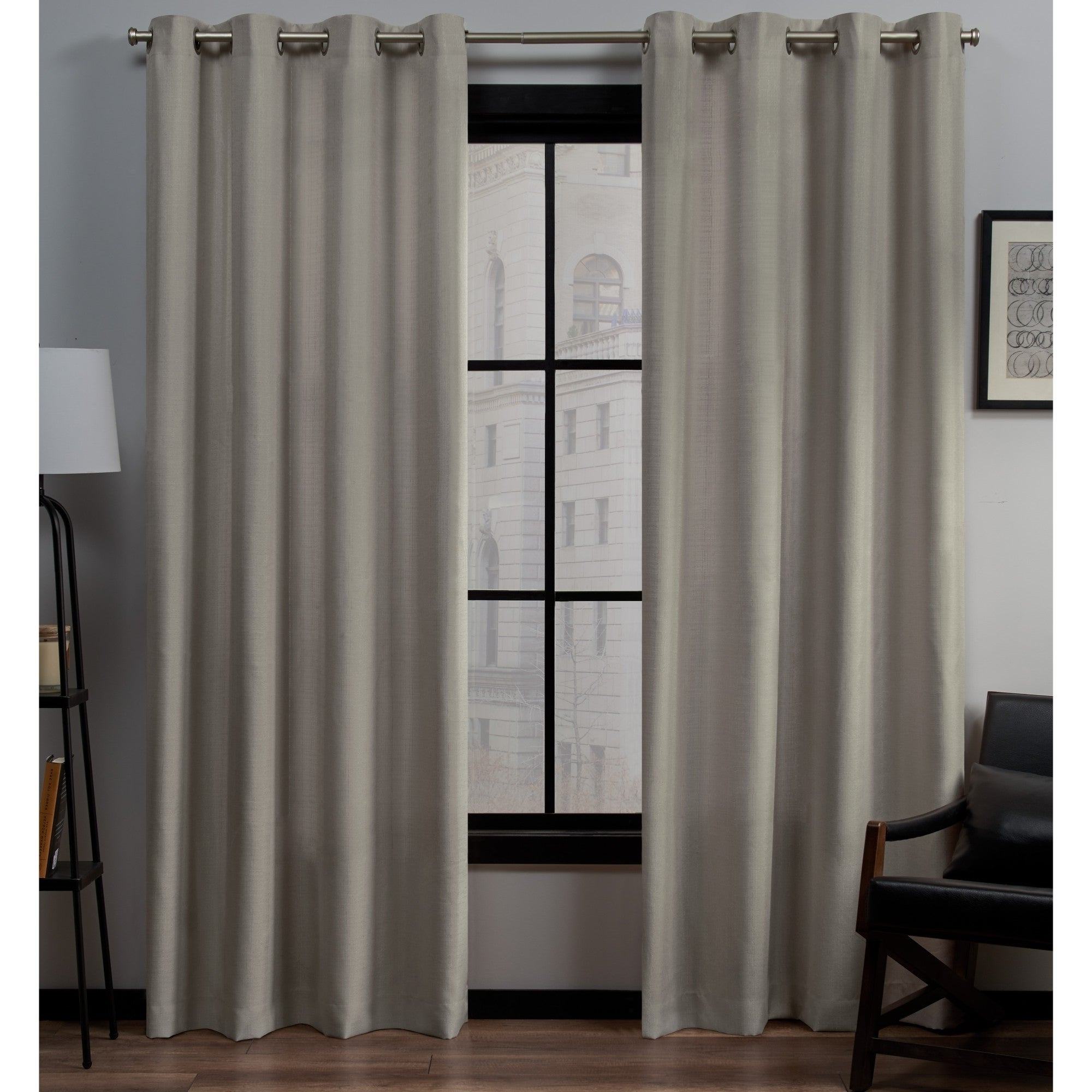 Featured Photo of Sugar Creek Grommet Top Loha Linen Window Curtain Panel Pairs