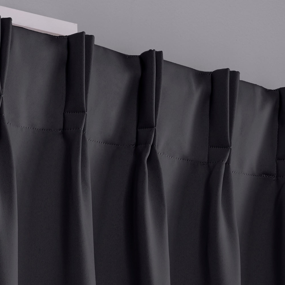 Overstock Shopping – The Best Deals On As Is Regarding Favorite Sateen Woven Blackout Curtain Panel Pairs With Pinch Pleat Top (View 17 of 20)