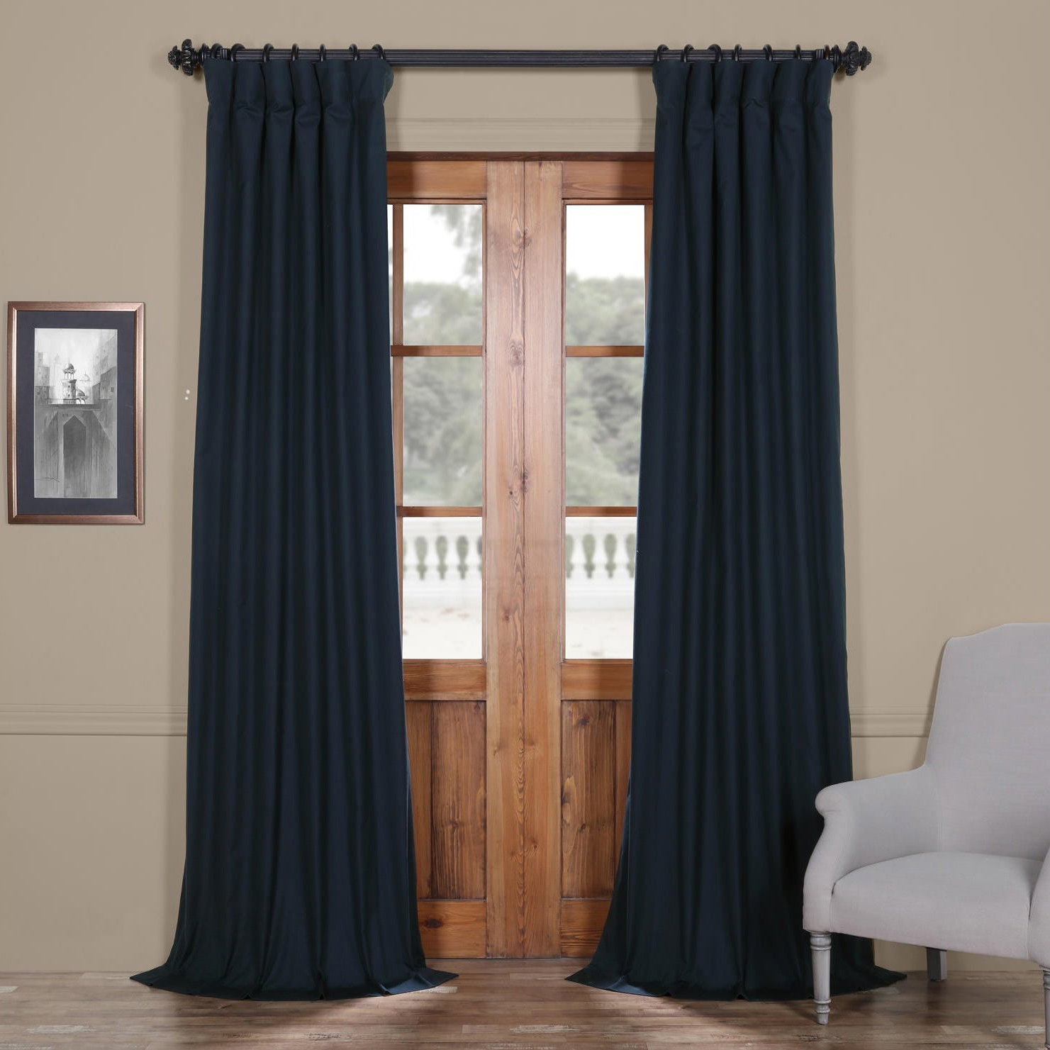 Overstock Shopping – The Best Deals On As Is Regarding Solid Cotton Curtain Panels (View 11 of 20)
