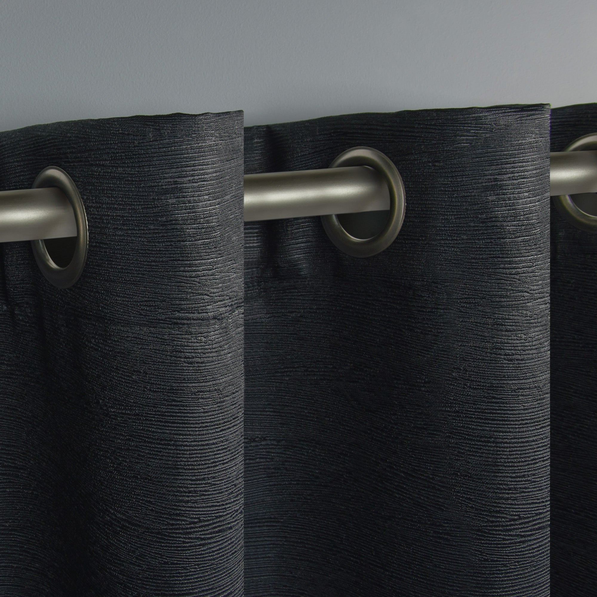 Oxford Sateen Woven Blackout Grommet Top Curtain Panel Pairs With Regard To Best And Newest Ati Home Oxford Sateen Woven Blackout Grommet Top Curtain Panel Pair (View 16 of 20)