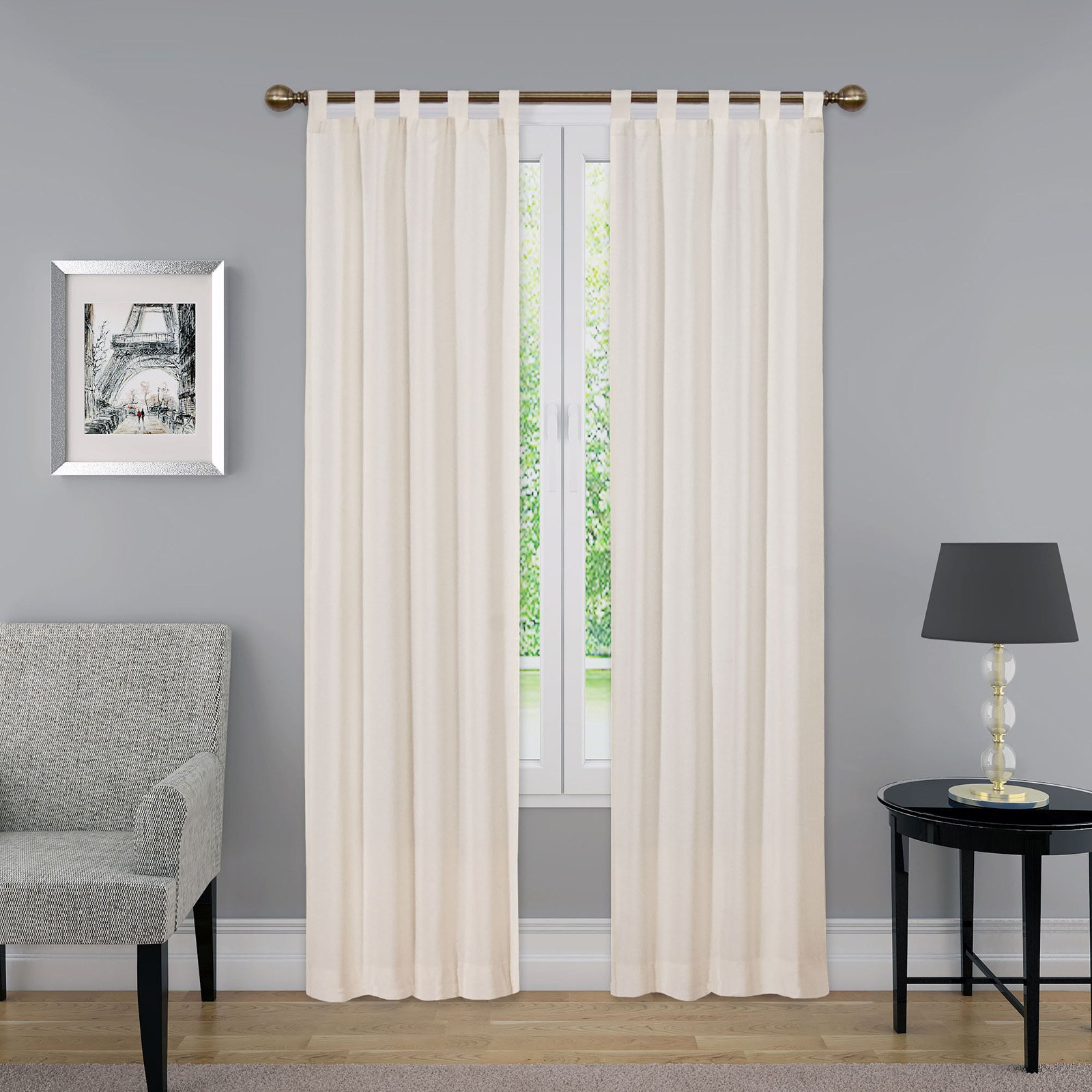 Pairs To Go Montana Curtain Panel Pair Grey In 2019 With Regard To Trendy Pairs To Go Victoria Voile Curtain Panel Pairs (View 20 of 20)
