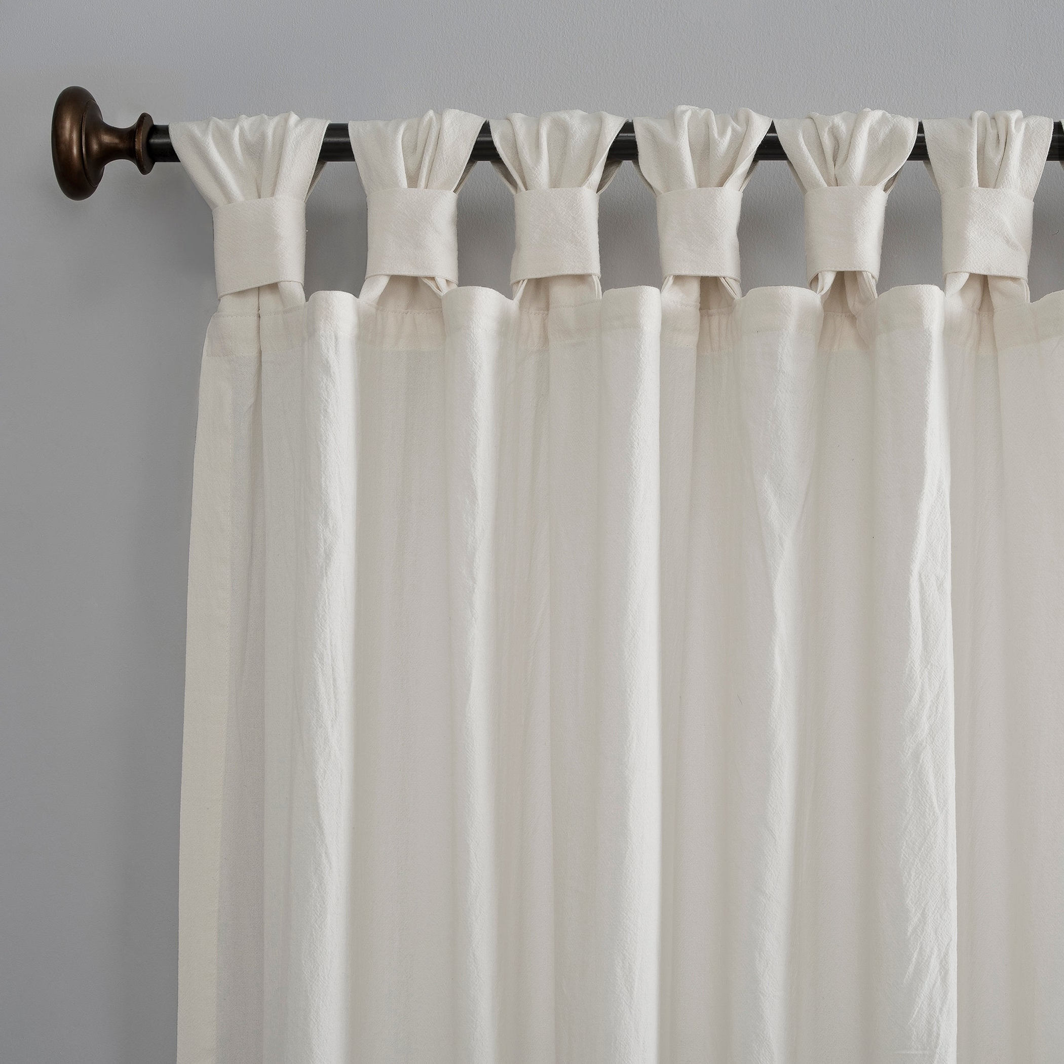 Popular Archaeo Washed Cotton Twist Tab Single Curtain Panels For Archaeo Washed Cotton Twist Tab Single Curtain Panel (View 4 of 20)