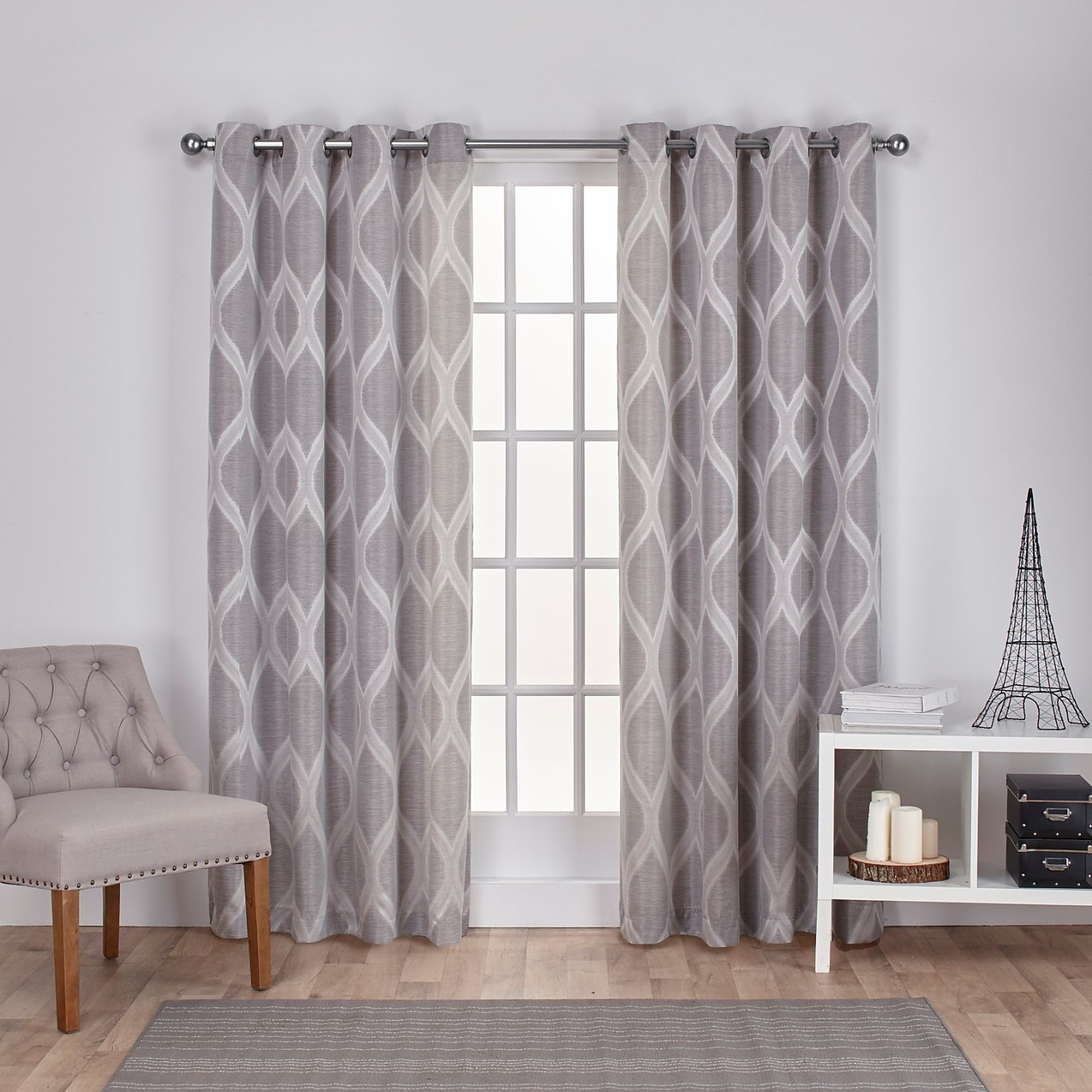 Popular Lambrequin Boho Paisley Cotton Curtain Panels Inside 96 Inch Drop Curtains (View 18 of 20)