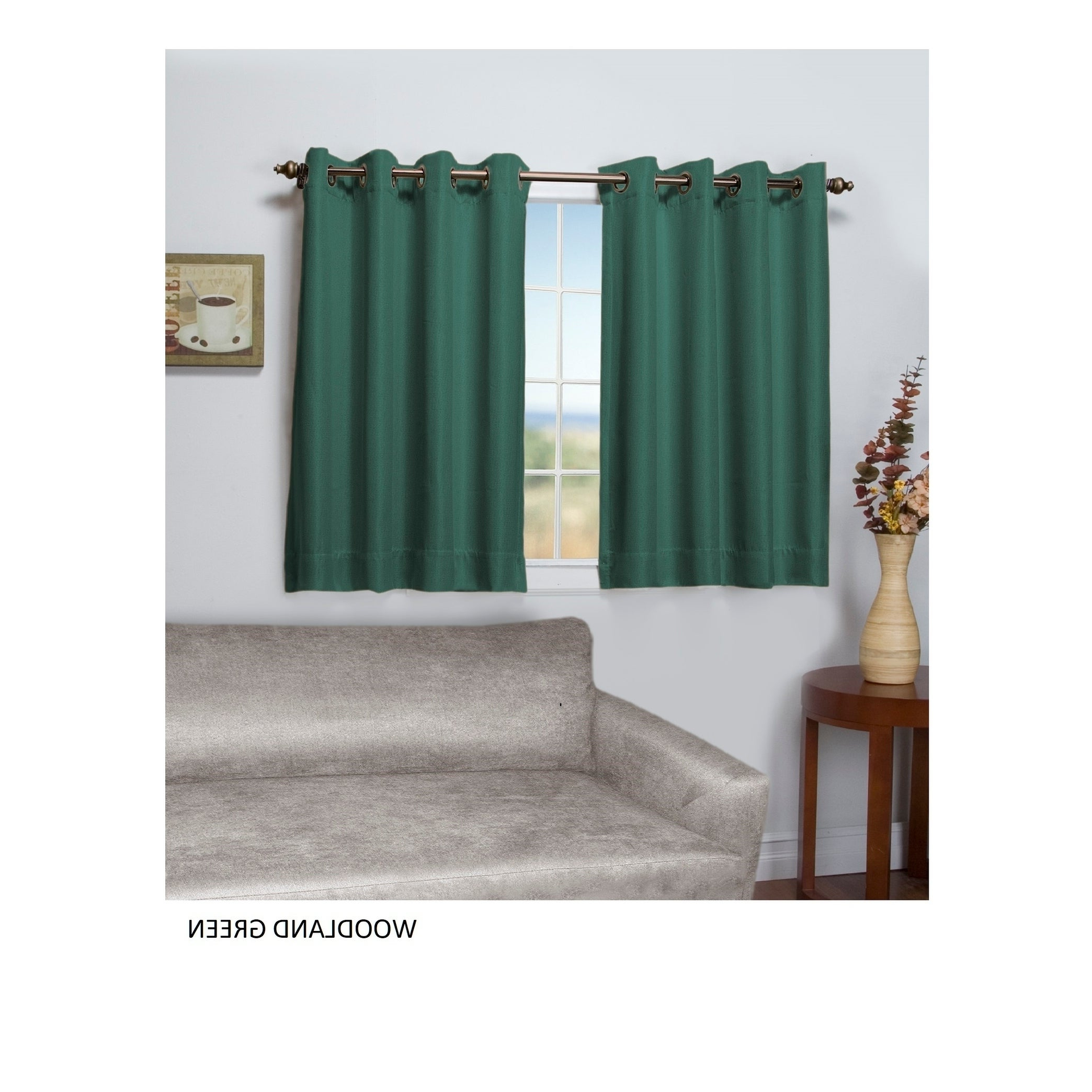 Popular Tacoma Double Blackout Grommet Curtain Panel – Short Length Regarding Tacoma Double Blackout Grommet Curtain Panels (View 5 of 20)