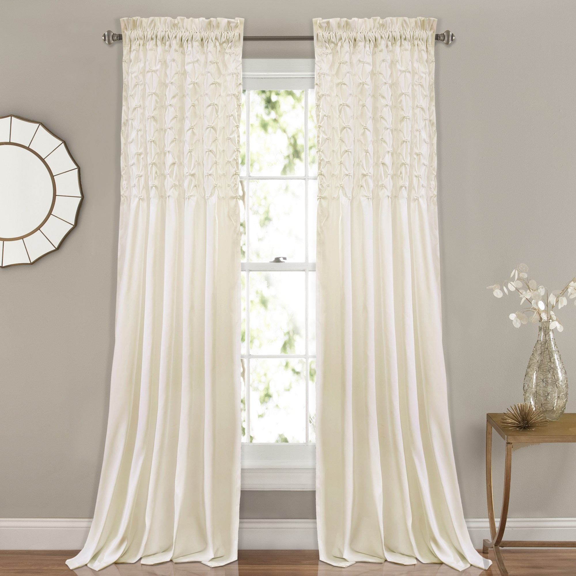 Popular The Gray Barn Sunset Hollow Window Curtain Panel Pair For The Gray Barn Kind Koala Curtain Panel Pairs (View 5 of 20)
