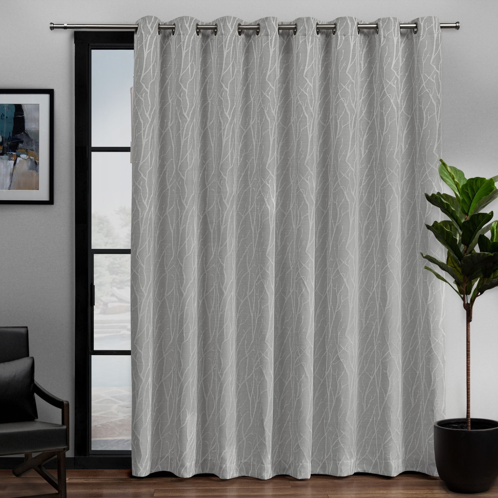 Featured Photo of Davis Patio Grommet Top Single Curtain Panels