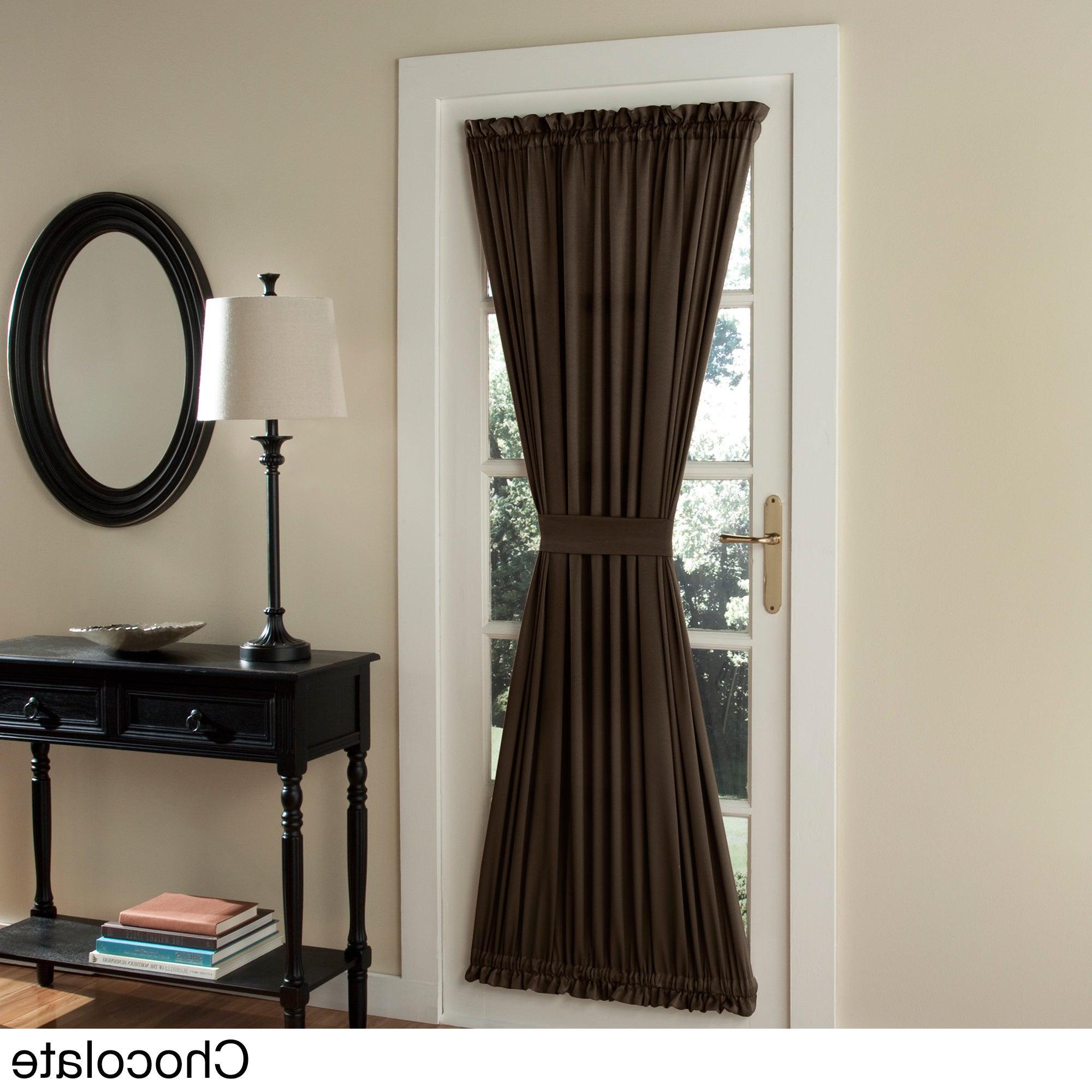 Featured Photo of Inez Patio Door Window Curtain Panels