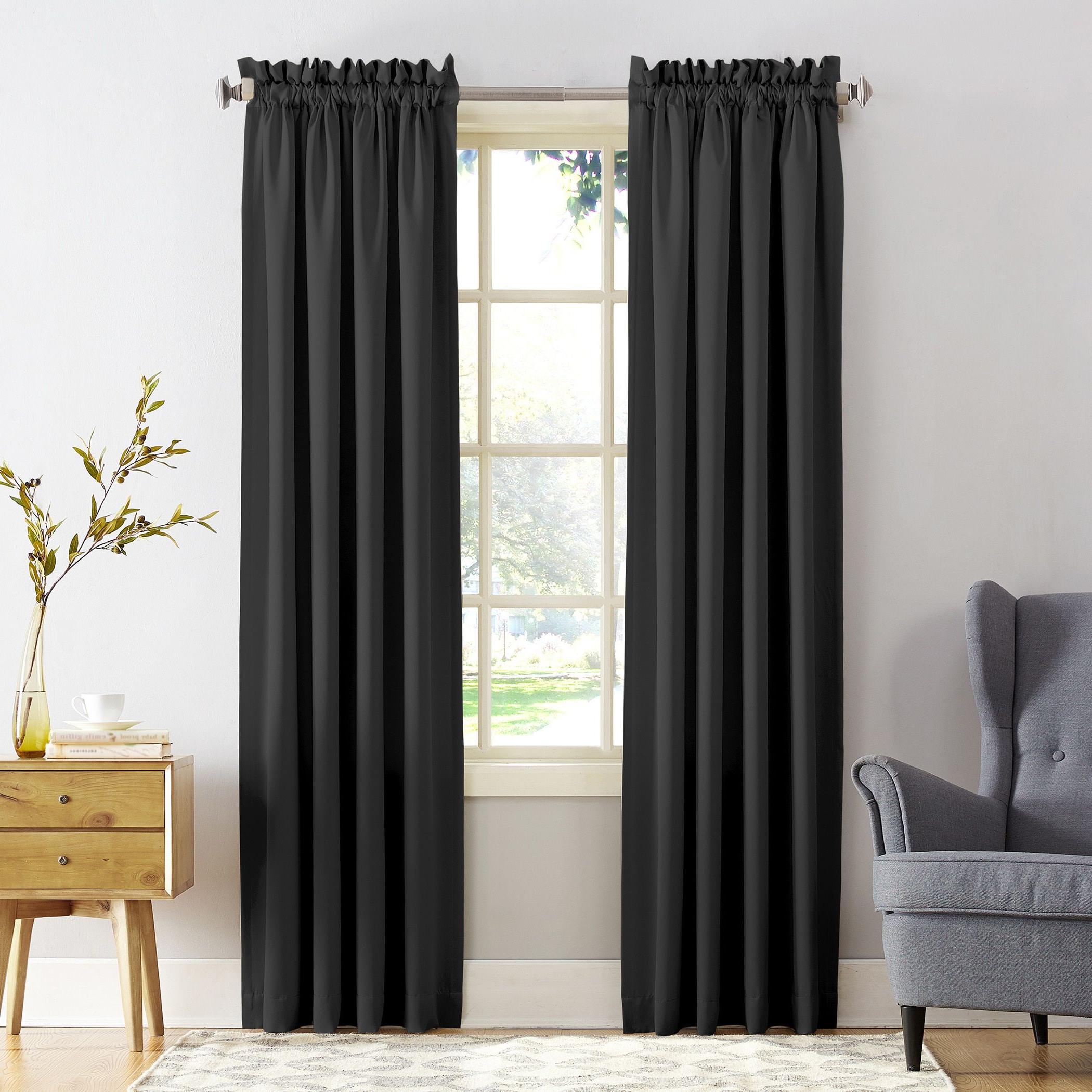 Porch & Den Inez Room Darkening Window Curtain Panel Or Pertaining To Trendy Inez Patio Door Window Curtain Panels (View 3 of 20)