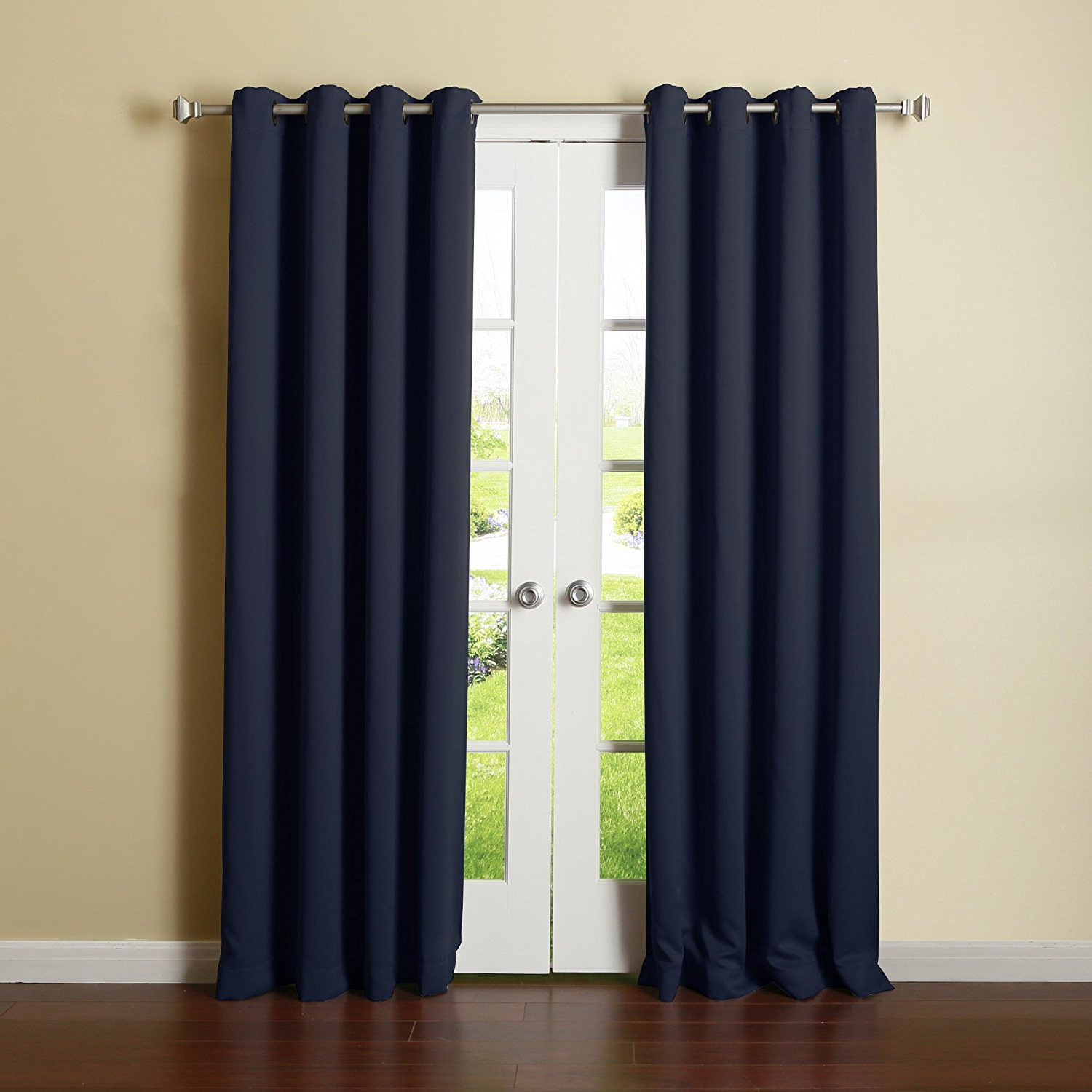 Preferred Antique Silver Grommet Top Thermal Insulated Blackout Curtain Panel Pairs Throughout Thermal Blackout Curtains For The Whole House – Blogbeen (View 16 of 20)