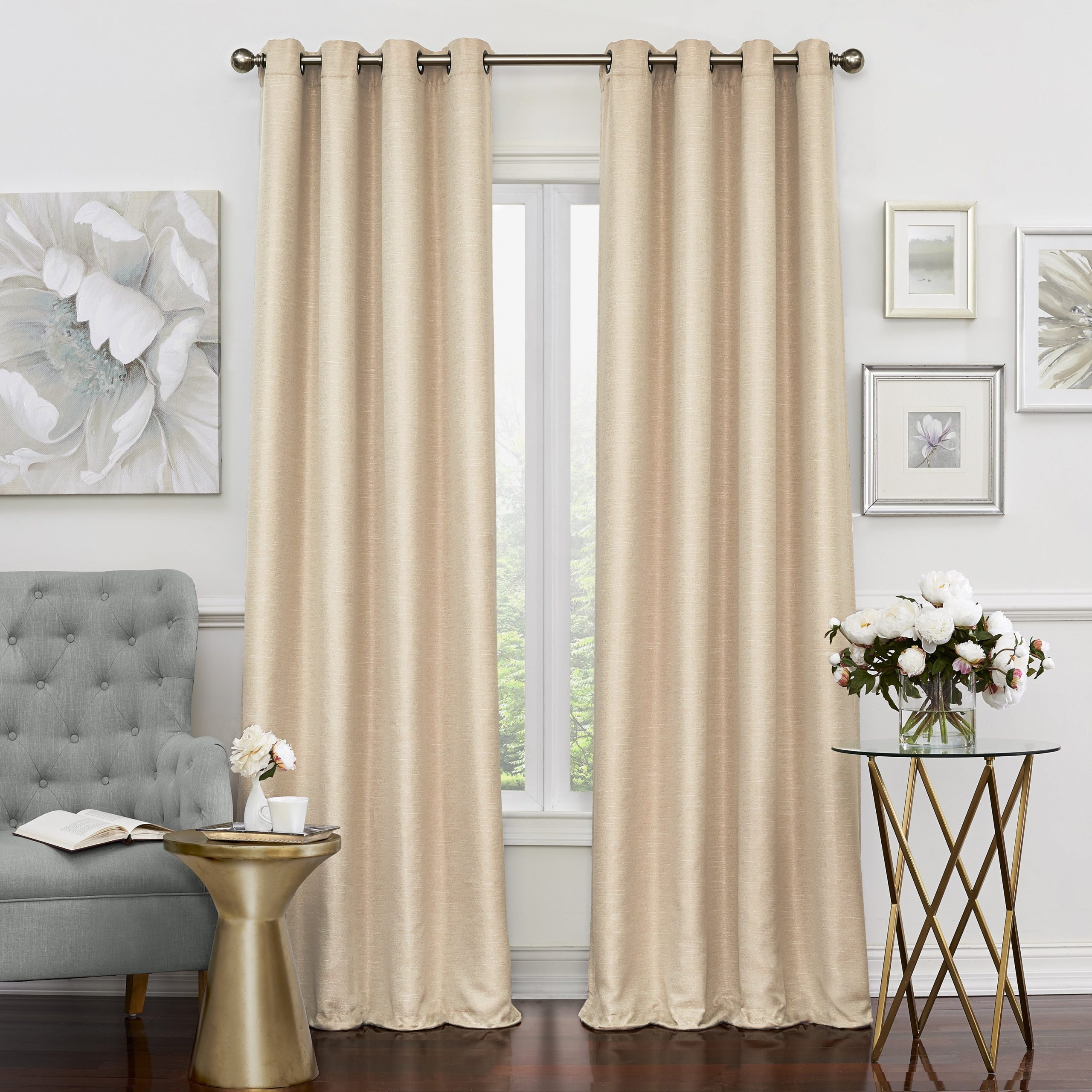 Preferred Eclipse Newport Blackout Curtain Panels With Regard To Details About Eclipse Luxor Thermalayer Blackout Window Curtain Panel (View 18 of 20)