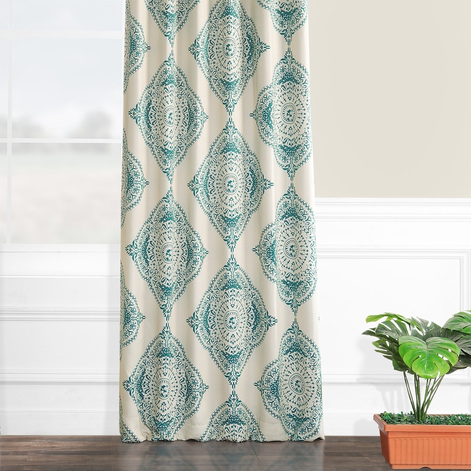 Preferred Shop Moroccan Style Thermal Insulated Blackout Curtain Panel Pertaining To Moroccan Style Thermal Insulated Blackout Curtain Panel Pairs (View 8 of 20)