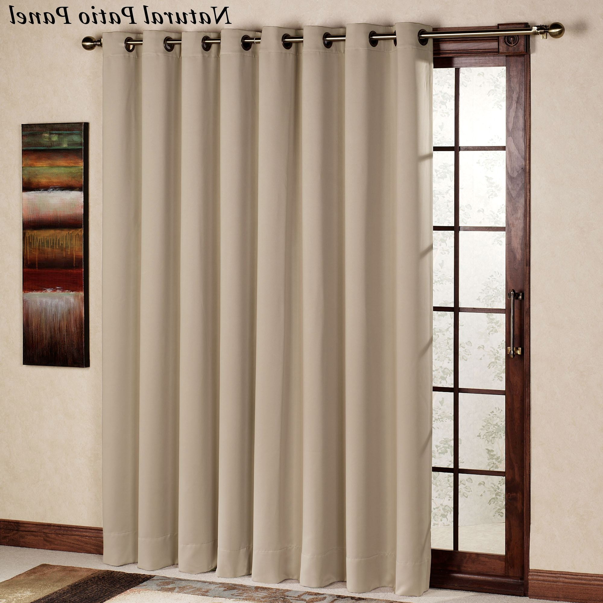Preferred Ultimate Blackout Grommet Curtain Panel Throughout Ultimate Blackout Short Length Grommet Panels (View 8 of 20)