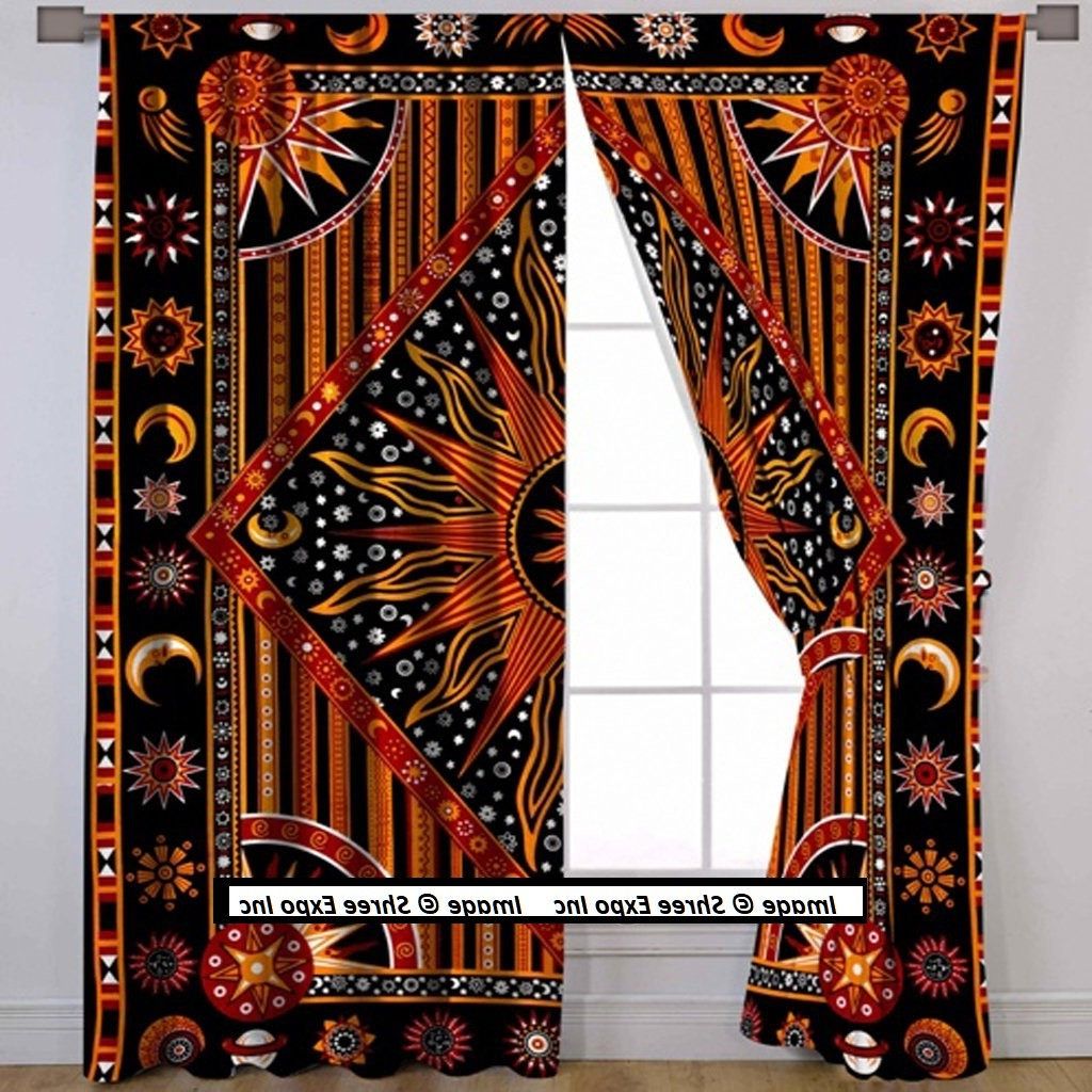 Primebeau Geometric Pattern Blackout Curtain Pairs With Well Known Curtains And Home Decor Inc (View 18 of 20)