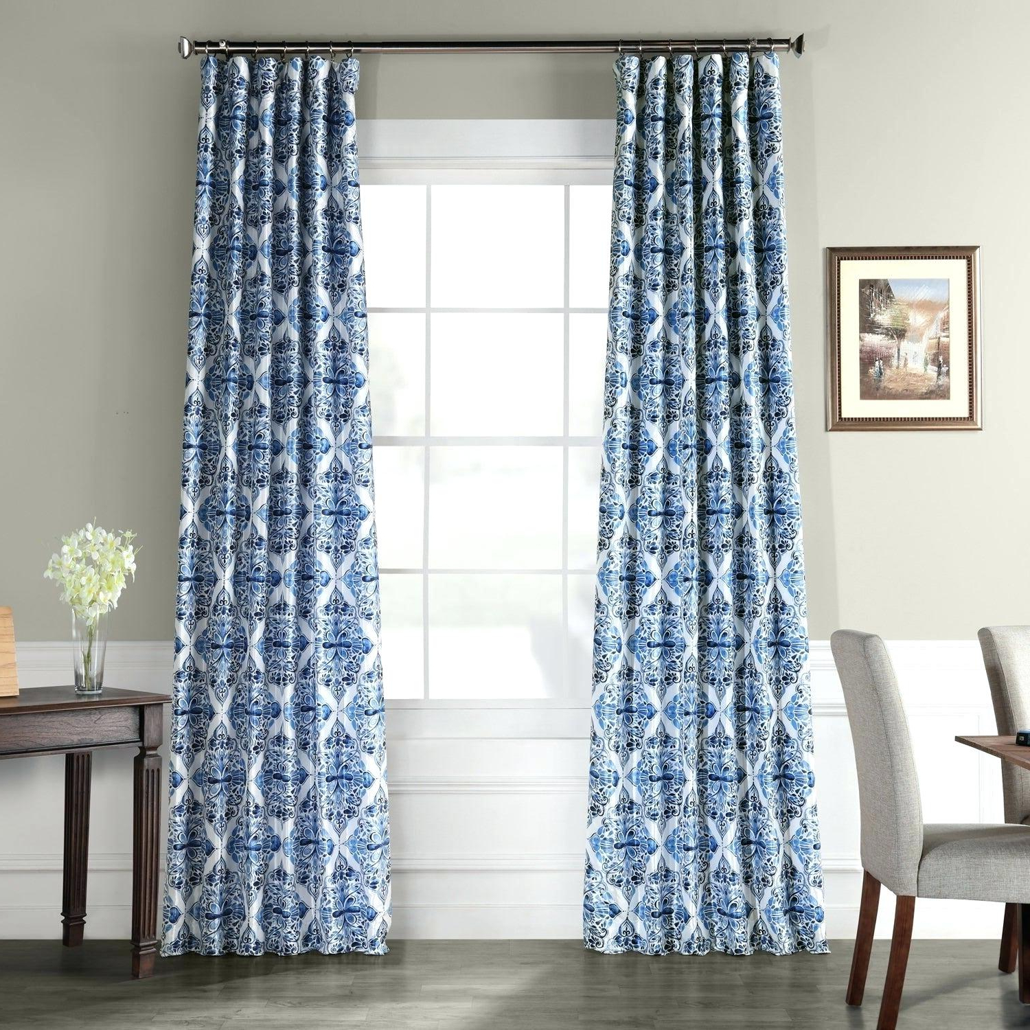 Printed Blackout Curtains – Labrit (View 16 of 20)