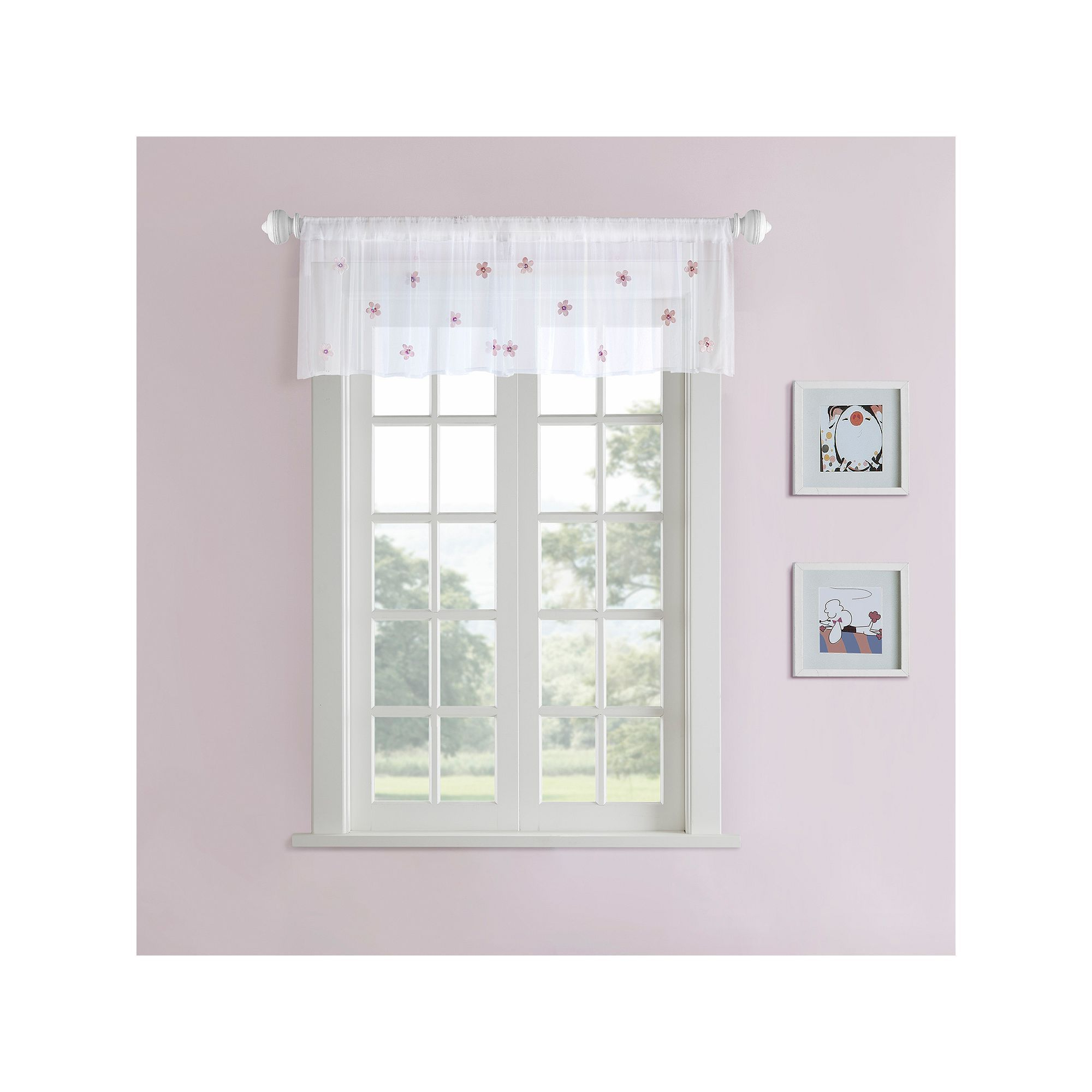 Products In Latest Kaylee Solid Crushed Sheer Window Curtain Pairs (View 17 of 20)