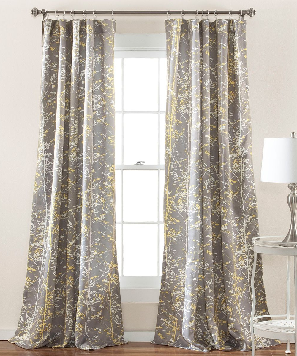 Products In Most Current Gray Barn Dogwood Floral Curtain Panel Pairs (View 13 of 20)