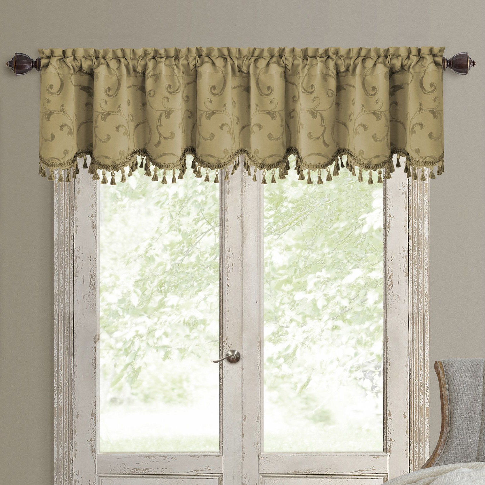 Products Inside Elrene Mia Jacquard Blackout Curtain Panels (View 18 of 20)