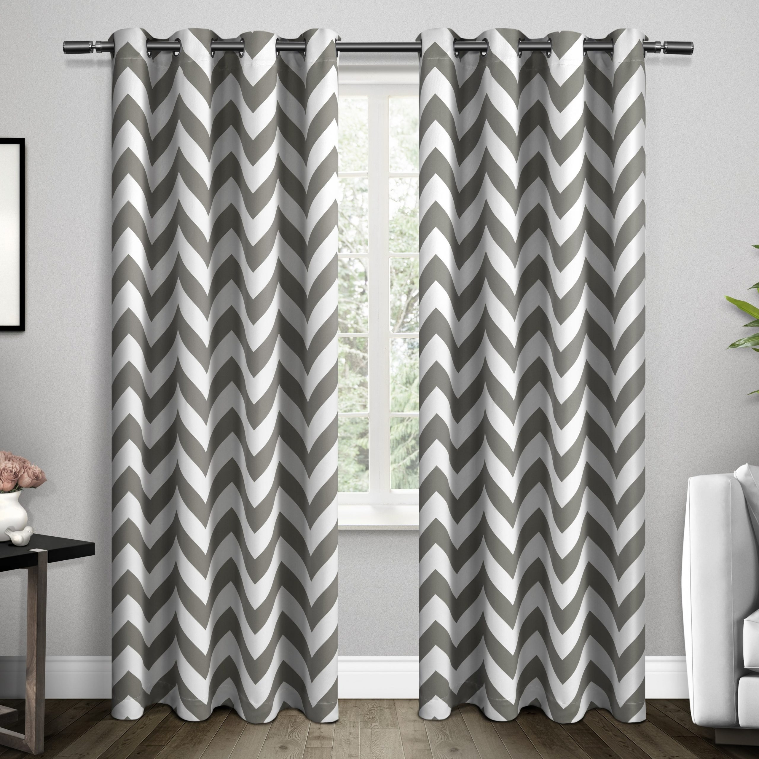Recent Ati Home Mars Thermal Woven Blackout Grommet Top Curtain Panel Pair Regarding Easton Thermal Woven Blackout Grommet Top Curtain Panel Pairs (View 3 of 20)