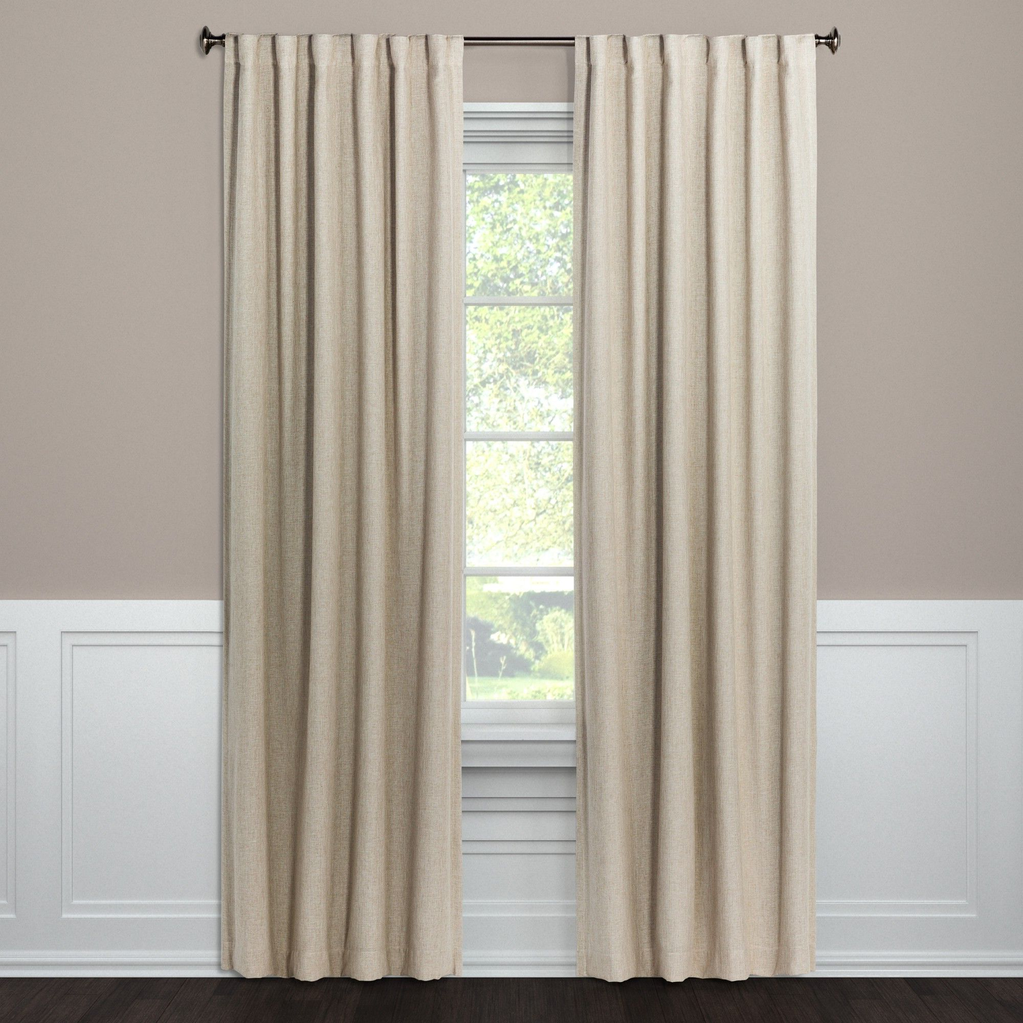 Recent Blackout Curtain Panel Aruba White 108 – Threshold, Sour For Archaeo Washed Cotton Twist Tab Single Curtain Panels (View 20 of 20)