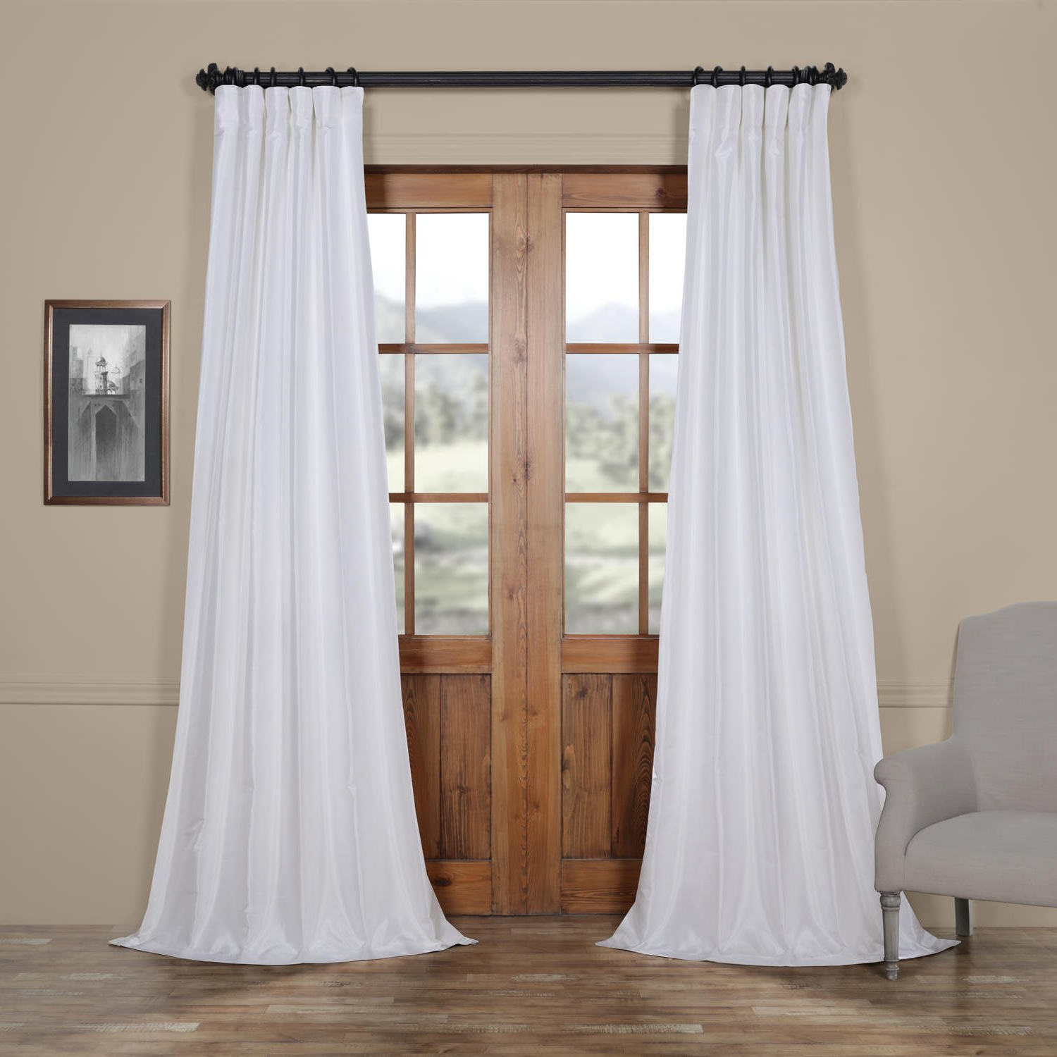 Recent Details About Half Price Drapes Pdch Kbs1 84 Vintage Textured Faux Dupioni  Silk Curtain, 50 X Regarding Vintage Textured Faux Dupioni Silk Curtain Panels (Gallery 19 of 20)