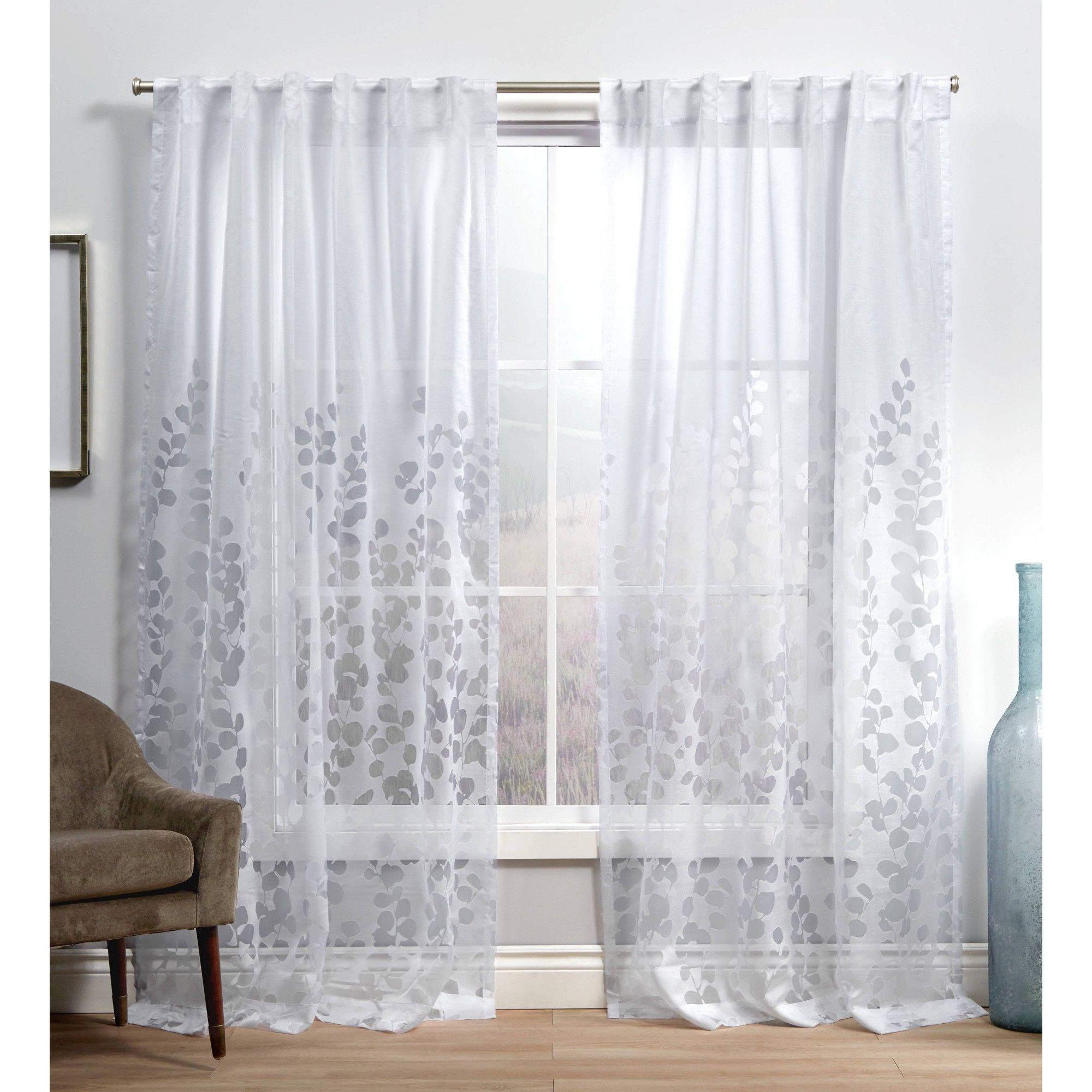 Recent Pin On Products In Laya Fretwork Burnout Sheer Curtain Panels (View 10 of 20)