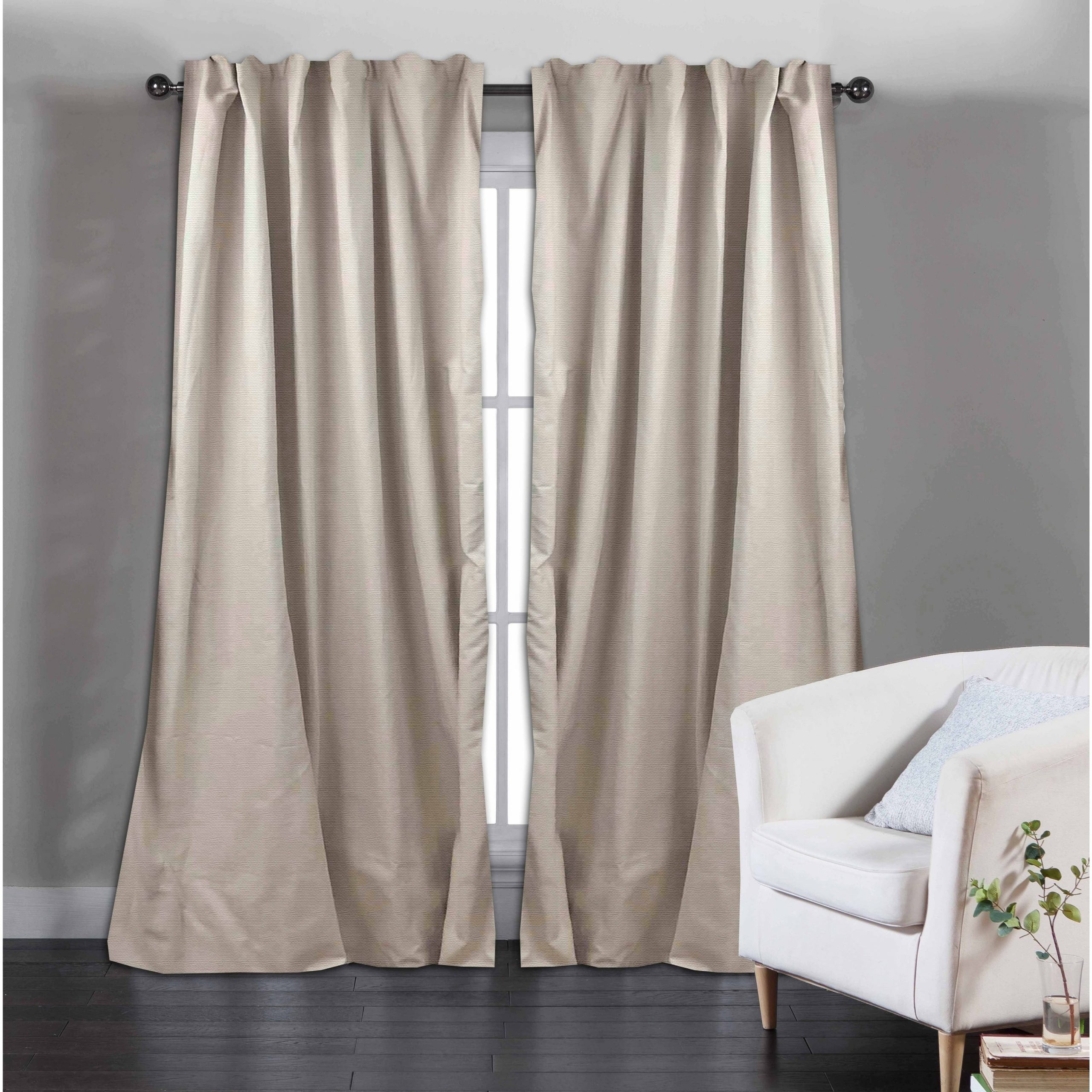 Featured Photo of Solid Cotton Curtain Panels