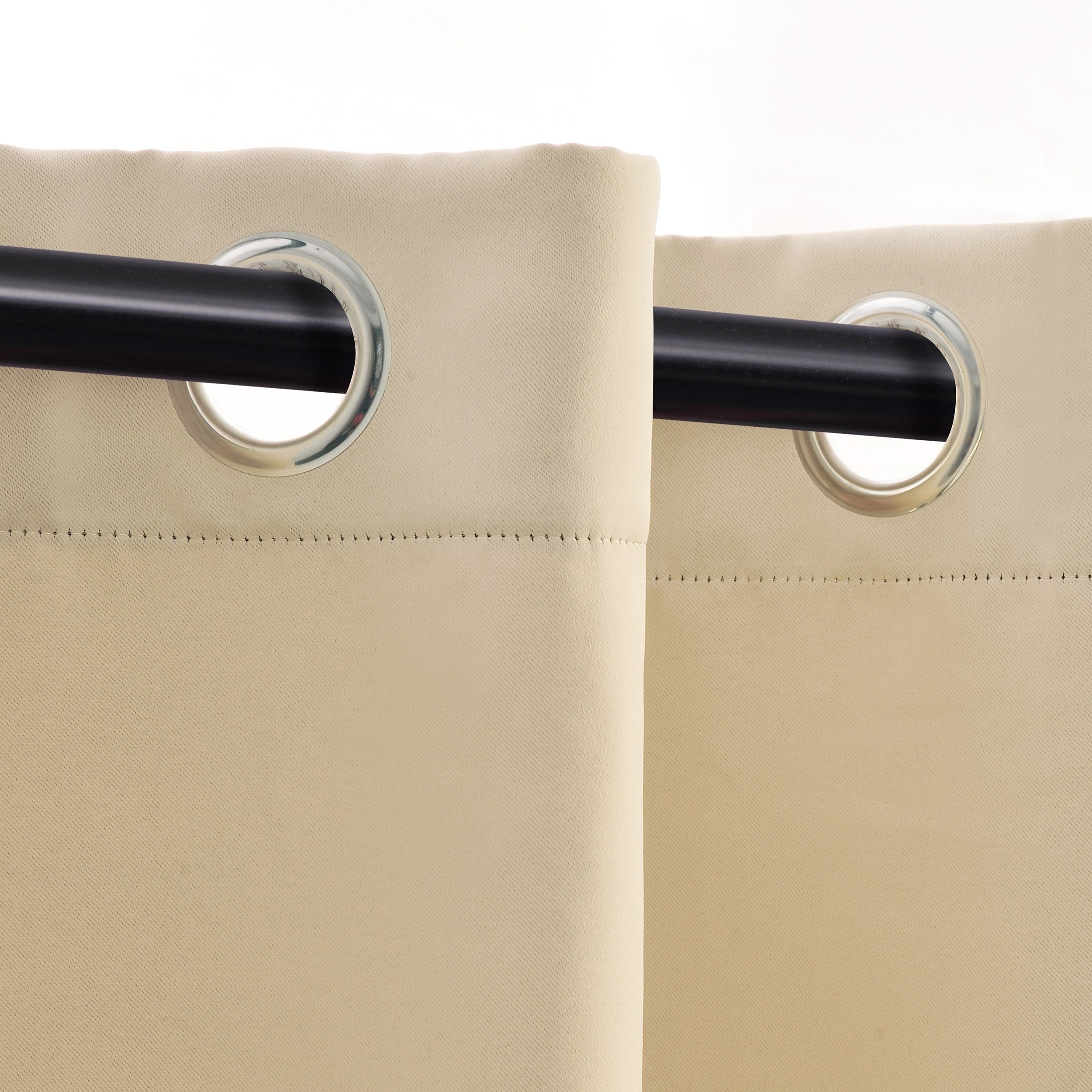 Recent Superior Solid Insulated Thermal Blackout Grommet Curtain Panel Pair In Superior Solid Insulated Thermal Blackout Grommet Curtain Panel Pairs (View 9 of 20)