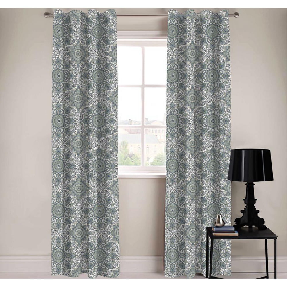 Recent White Paisley Curtains – Home Ideas In Lambrequin Boho Paisley Cotton Curtain Panels (View 9 of 20)