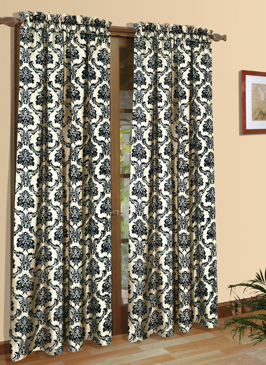 Rod Pocket Curtain Panels In Current Sumatra Thermal And Room Darkening Rod Pocket Panel – Thermalogic (Gallery 8 of 20)