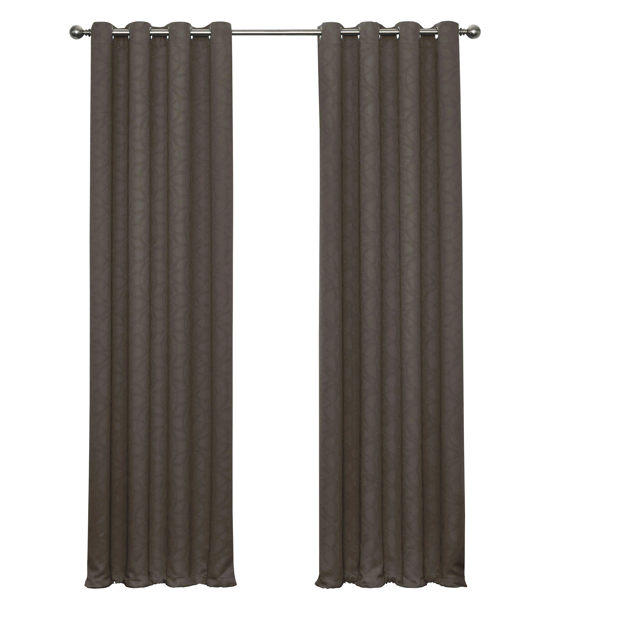 Shively Thermaweave Geometric Blackout Thermal Single Curtain Panel For Newest Thermaweave Blackout Curtains (View 10 of 20)