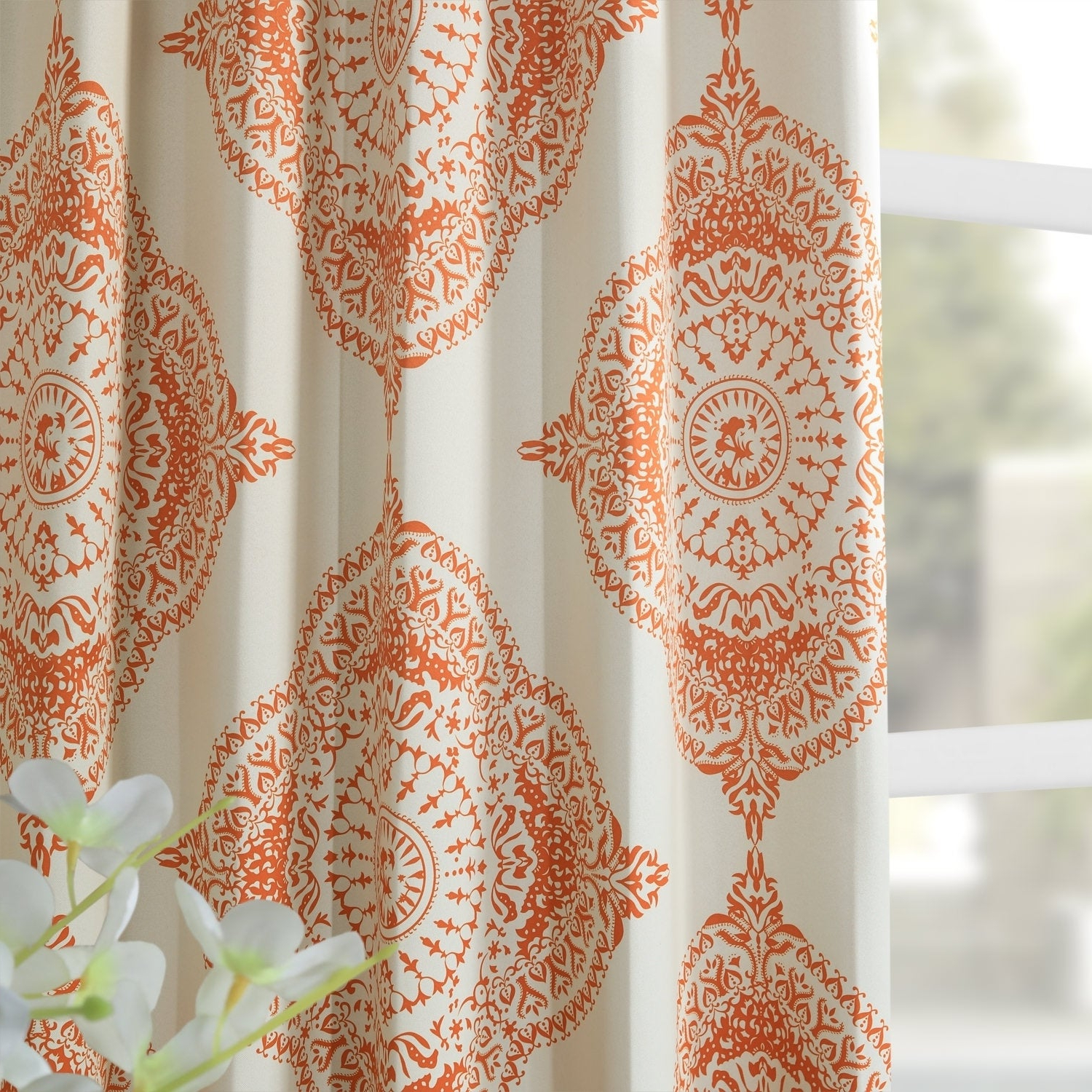 Shop Moroccan Style Thermal Insulated Blackout Curtain Panel With Regard To 2021 Moroccan Style Thermal Insulated Blackout Curtain Panel Pairs (View 16 of 20)