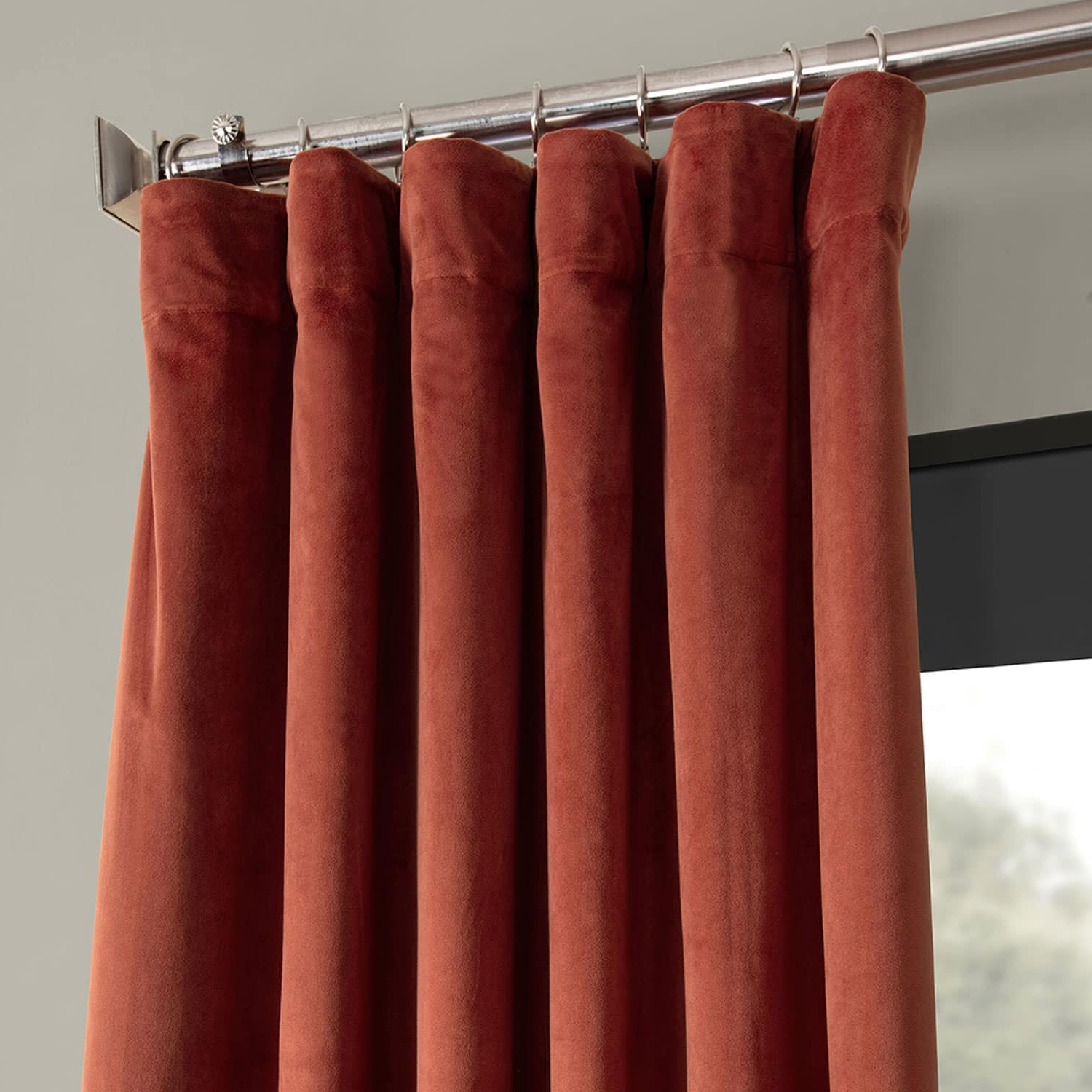Signature Blackout Velvet Curtains Pertaining To Favorite Details About Signature Blackout Velvet Curtains (sold Per Panel) (View 10 of 20)