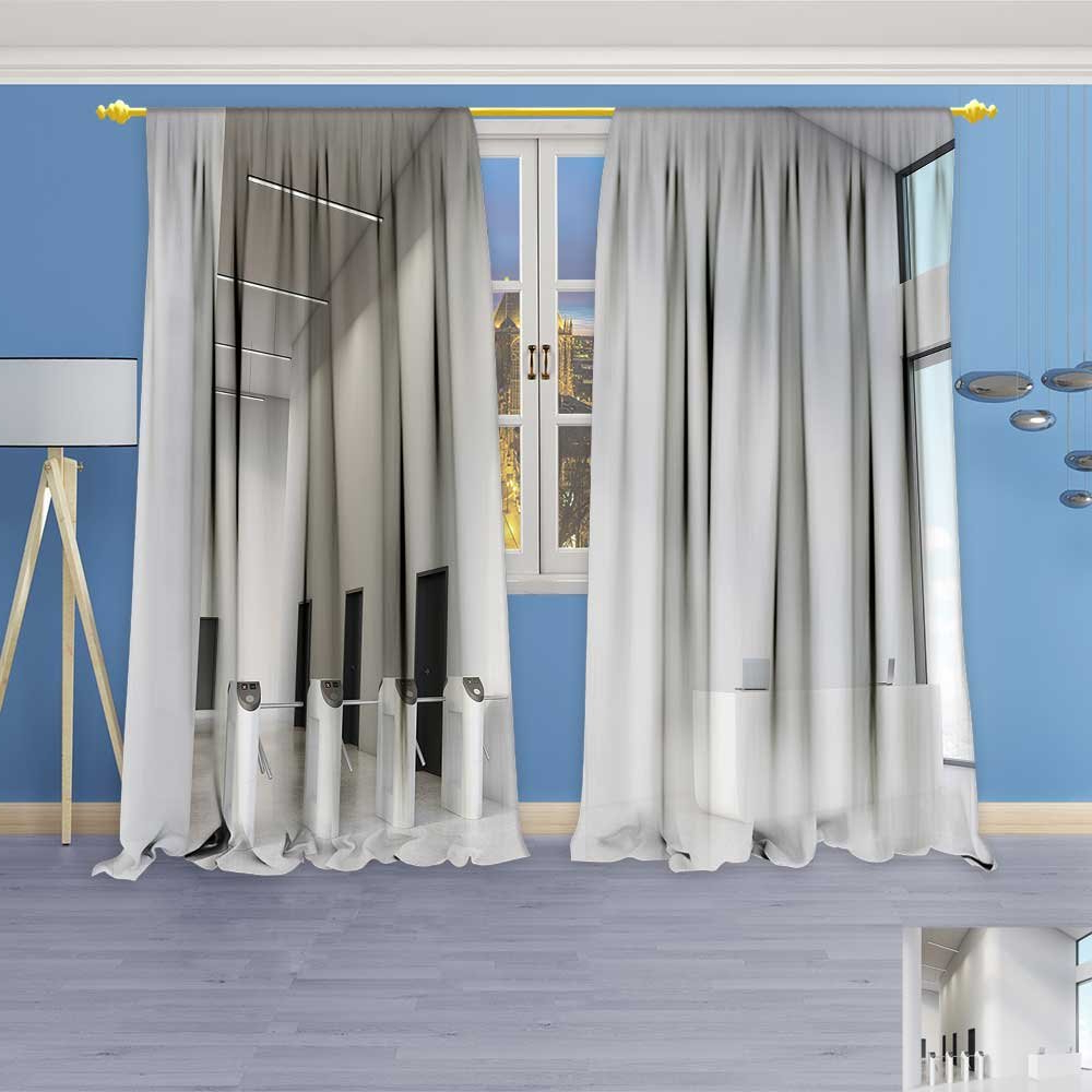 Socomimi Embossed Thermal Weaved Grommet Blackout Curtains With Regard To Fashionable Embossed Thermal Weaved Blackout Grommet Drapery Curtains (View 17 of 20)