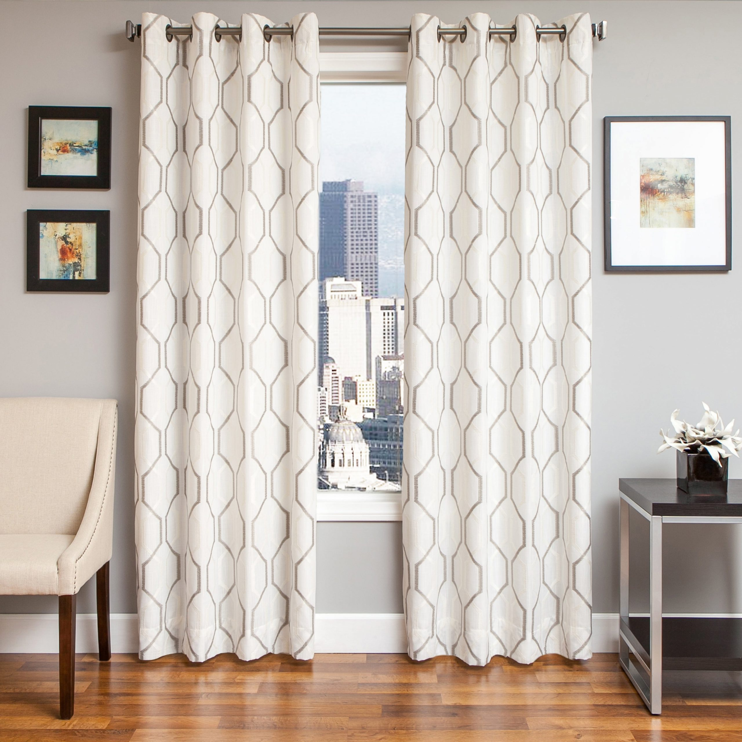 Softline Maxwell Lined Grommet Top Curtain Panel Inside Most Up To Date Softline Trenton Grommet Top Curtain Panels (View 7 of 20)
