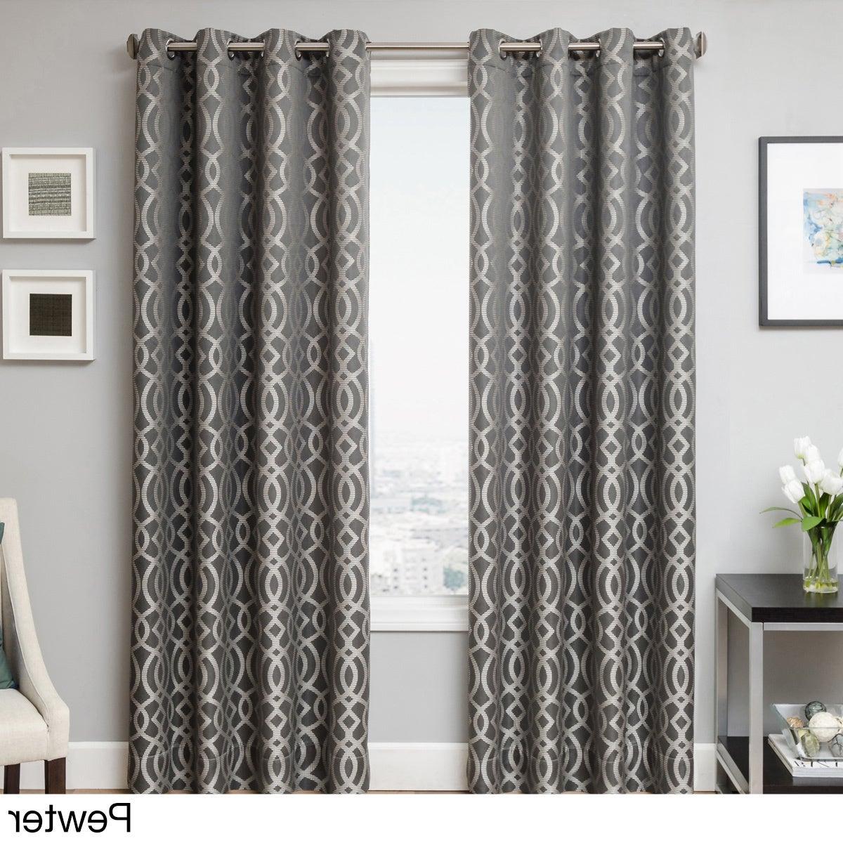 Softline Trenton Grommet Top Curtain Panels For Recent Softline Everest Grommet Top Curtain Panel (View 15 of 20)