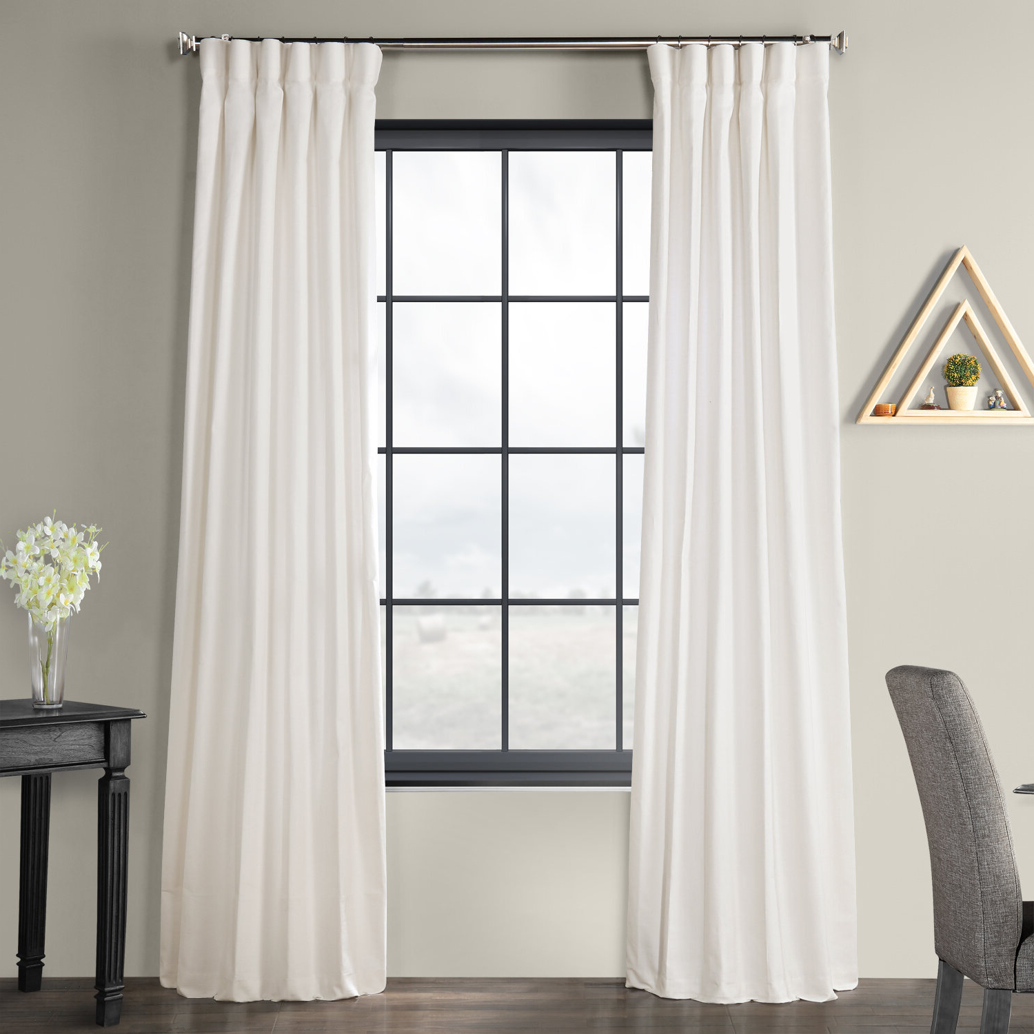 Solid Country Cotton Linen Weave Curtain Panels With Regard To Most Current Sanger Solid Country Cotton Linen Weave Rod Pocket Single Curtain Panel (View 18 of 20)