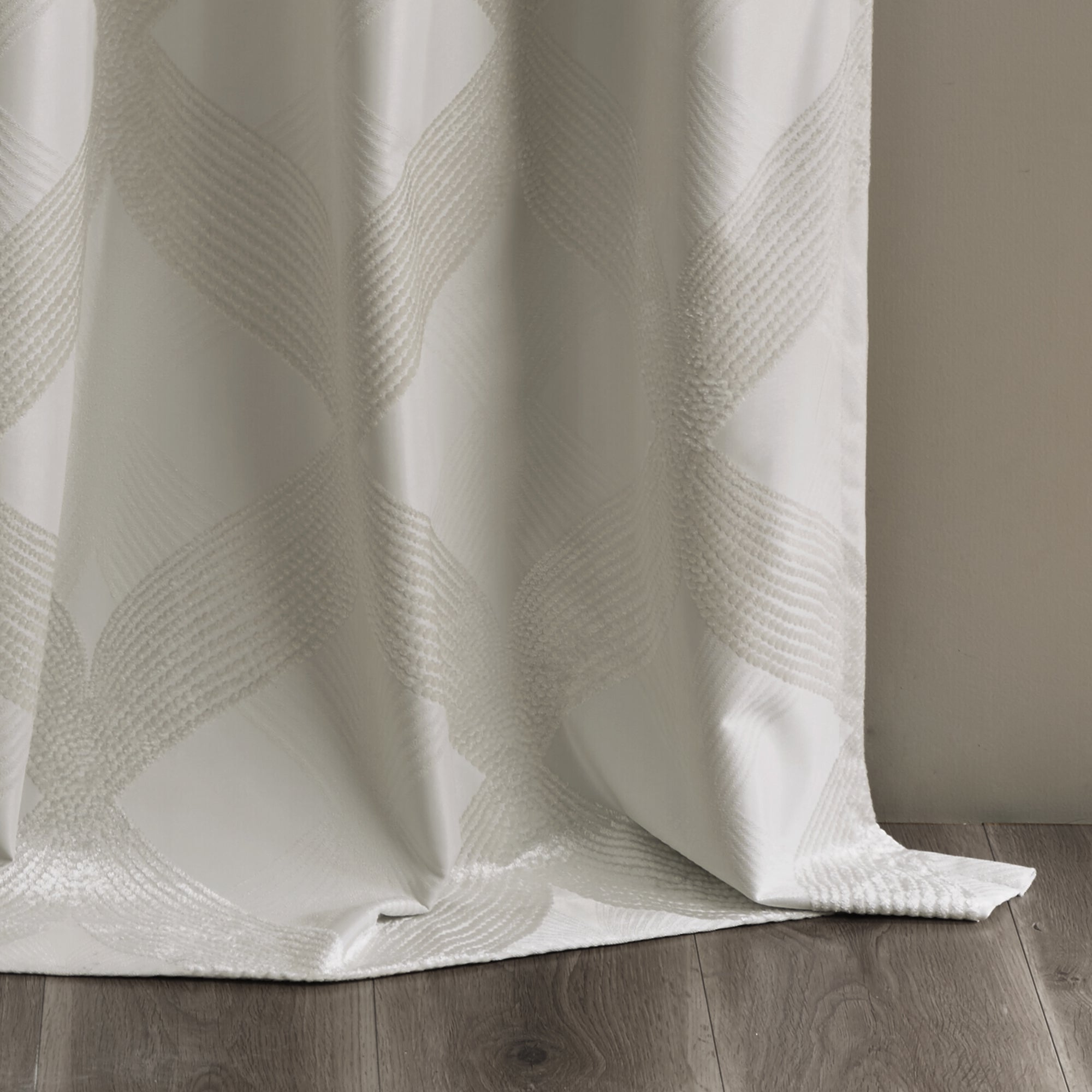 Sunsmart Abel Ogee Knitted Jacquard Total Blackout Curtain Panel Throughout 2020 Sunsmart Abel Ogee Knitted Jacquard Total Blackout Curtain Panels (View 10 of 20)