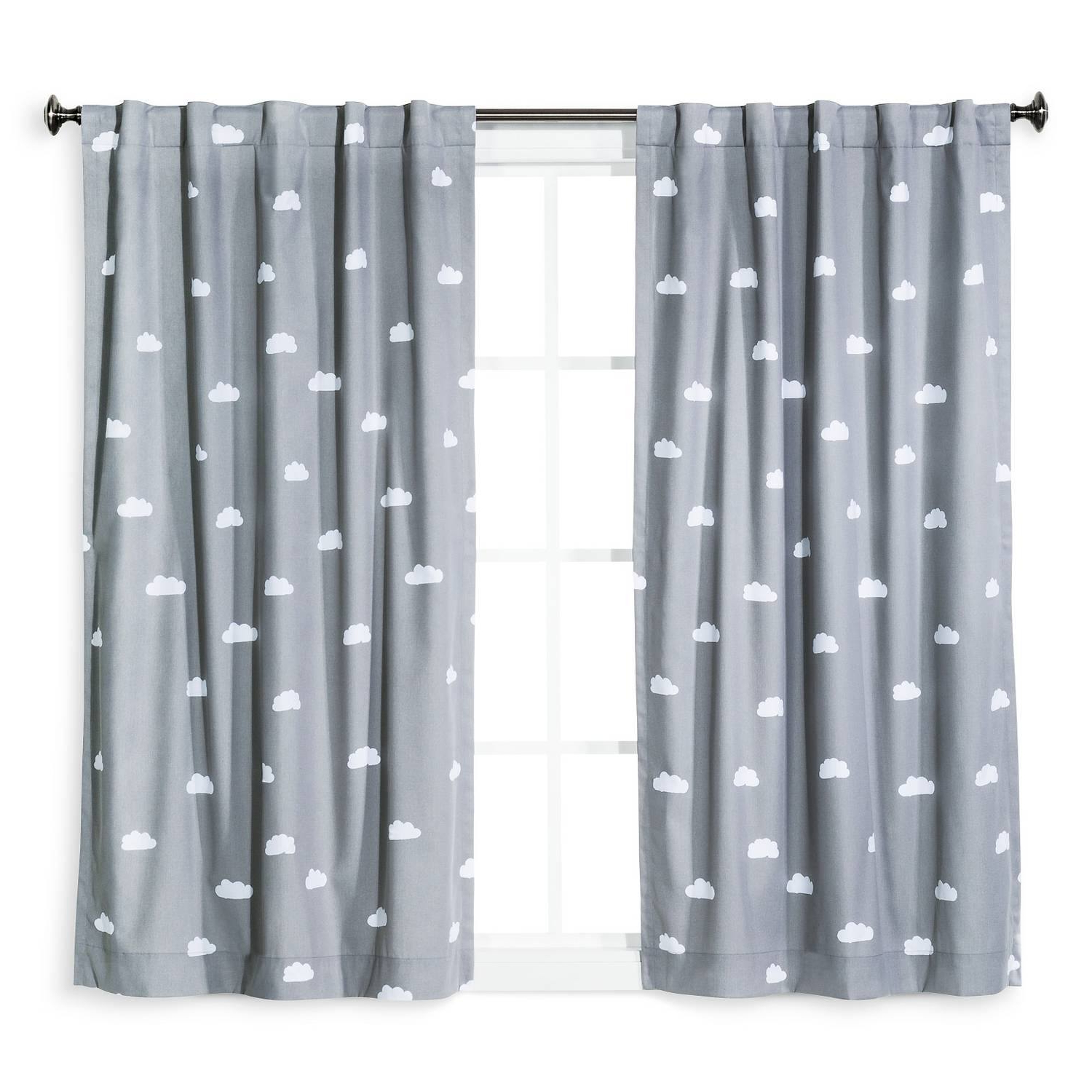 Sunsmart Dahlia Paisley Printed Total Blackout Single Window Curtain Panels Within Current Total Blackout Curtains Canada (View 16 of 20)