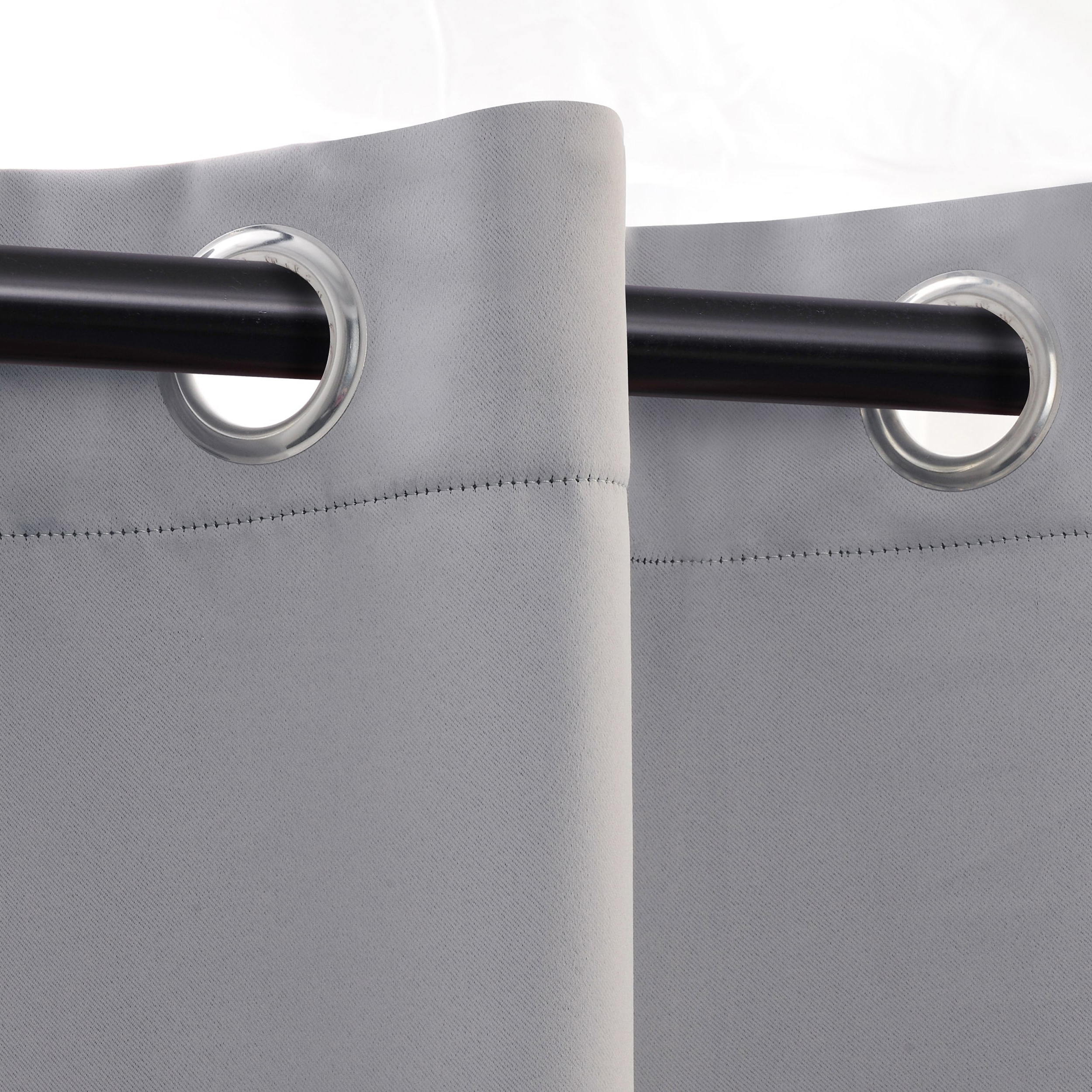Superior Solid Insulated Thermal Blackout Grommet Curtain Panel Pair Intended For 2021 Superior Solid Insulated Thermal Blackout Grommet Curtain Panel Pairs (View 12 of 20)